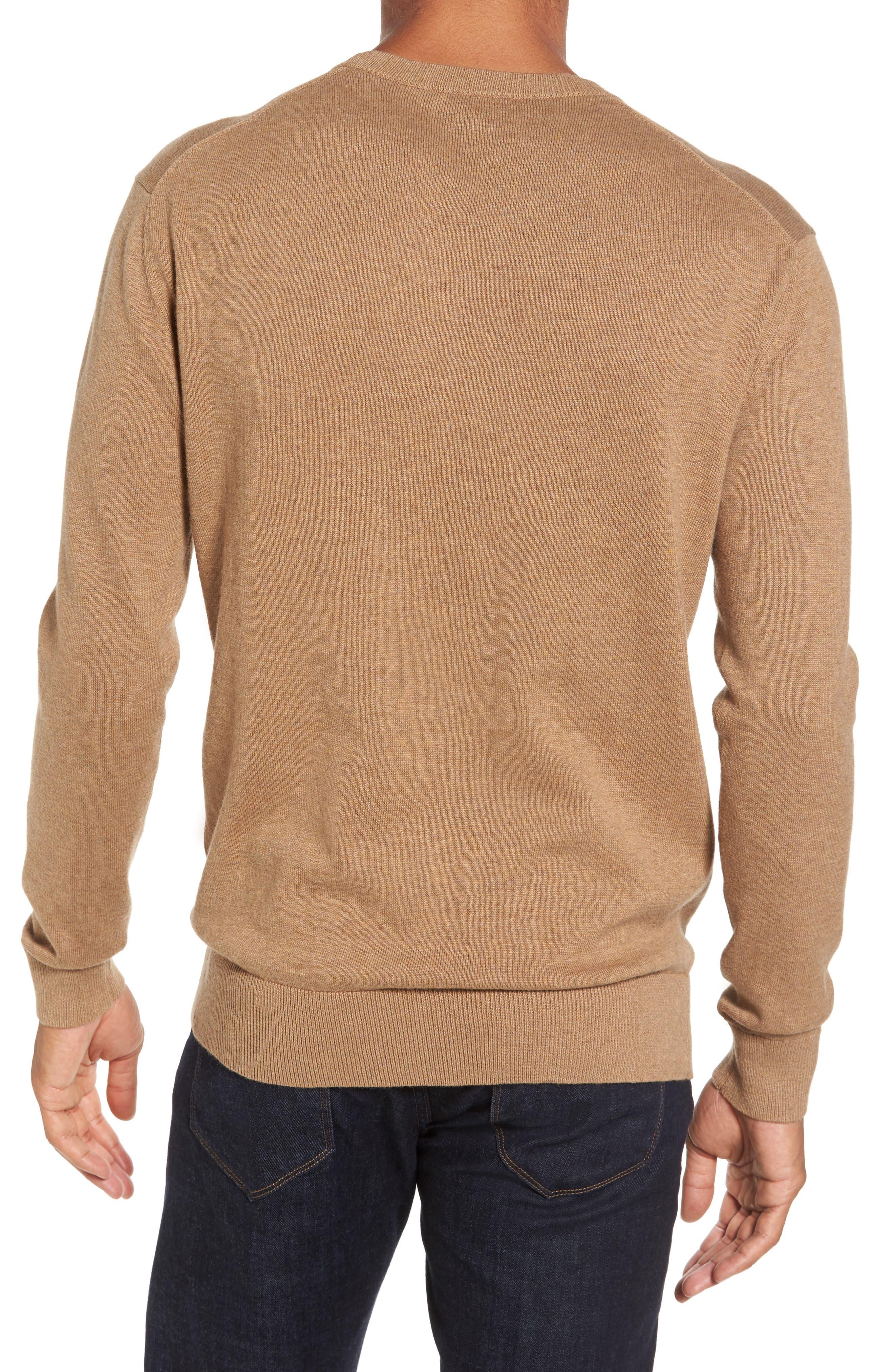 Portrait Crewneck Sweater,                             Alternate thumbnail 5, color,