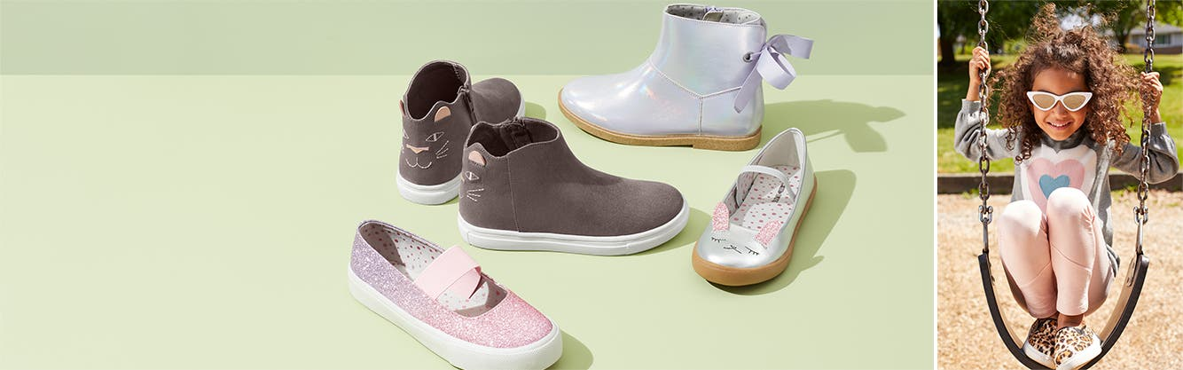 Back-to-school faves: shoes for girls.