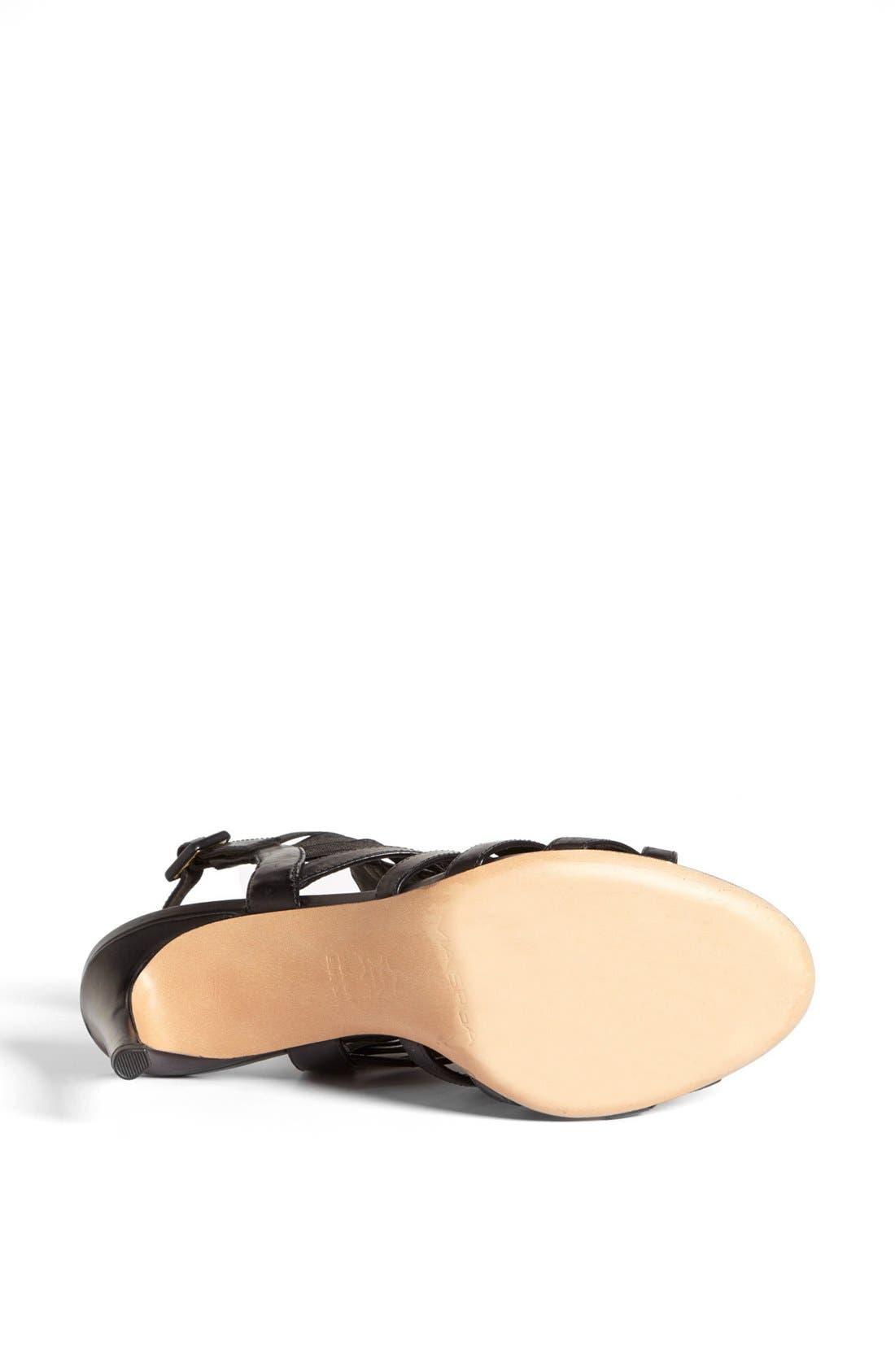 'Tafari' Sandal,                             Alternate thumbnail 3, color,                             001