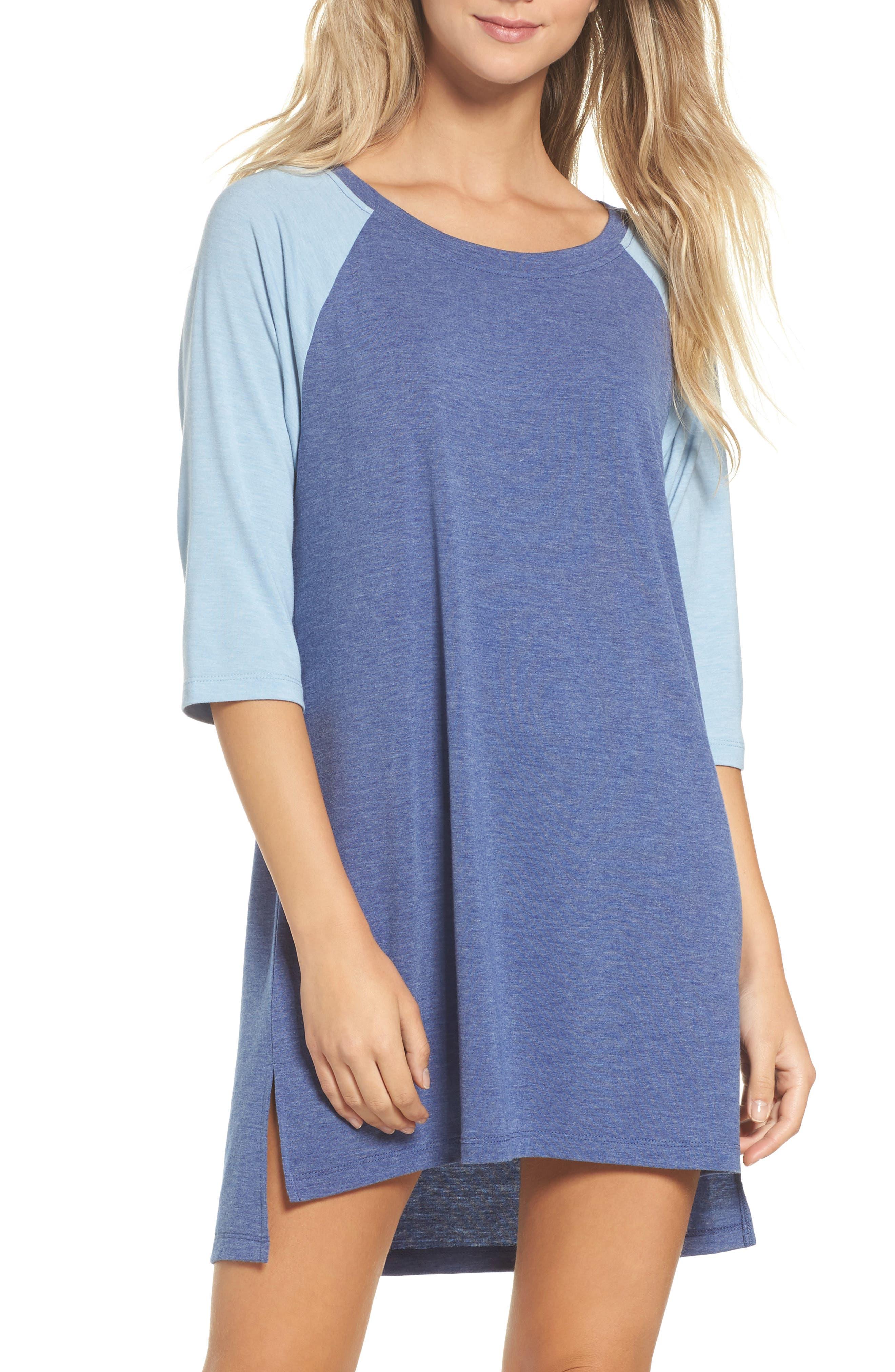 Honeydew All American Sleep Shirt,                             Main thumbnail 4, color,
