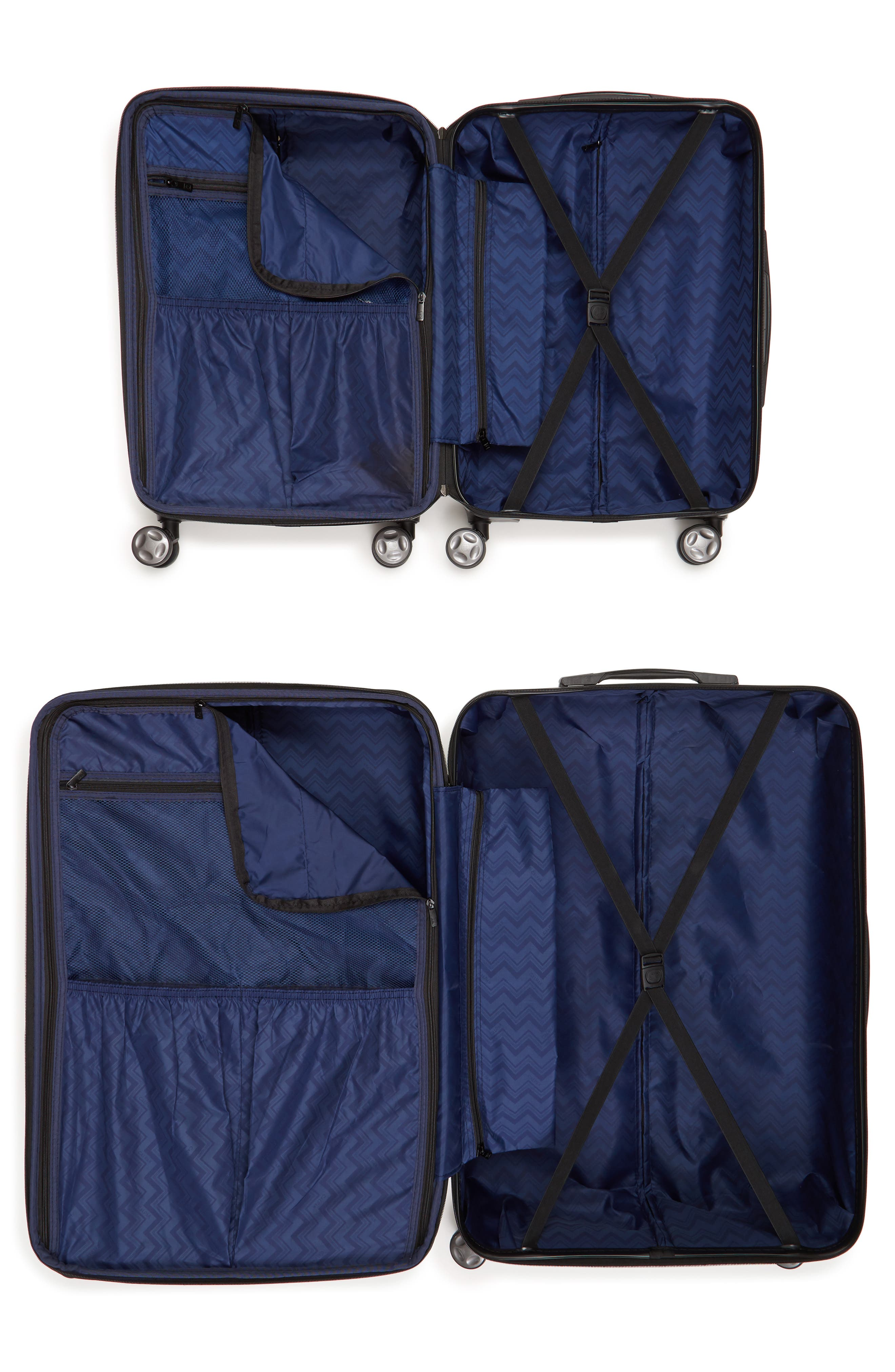 Astyll 22-Inch & 30-Inch Spinner Luggage Set,                             Alternate thumbnail 2, color,                             MILK MARBLE