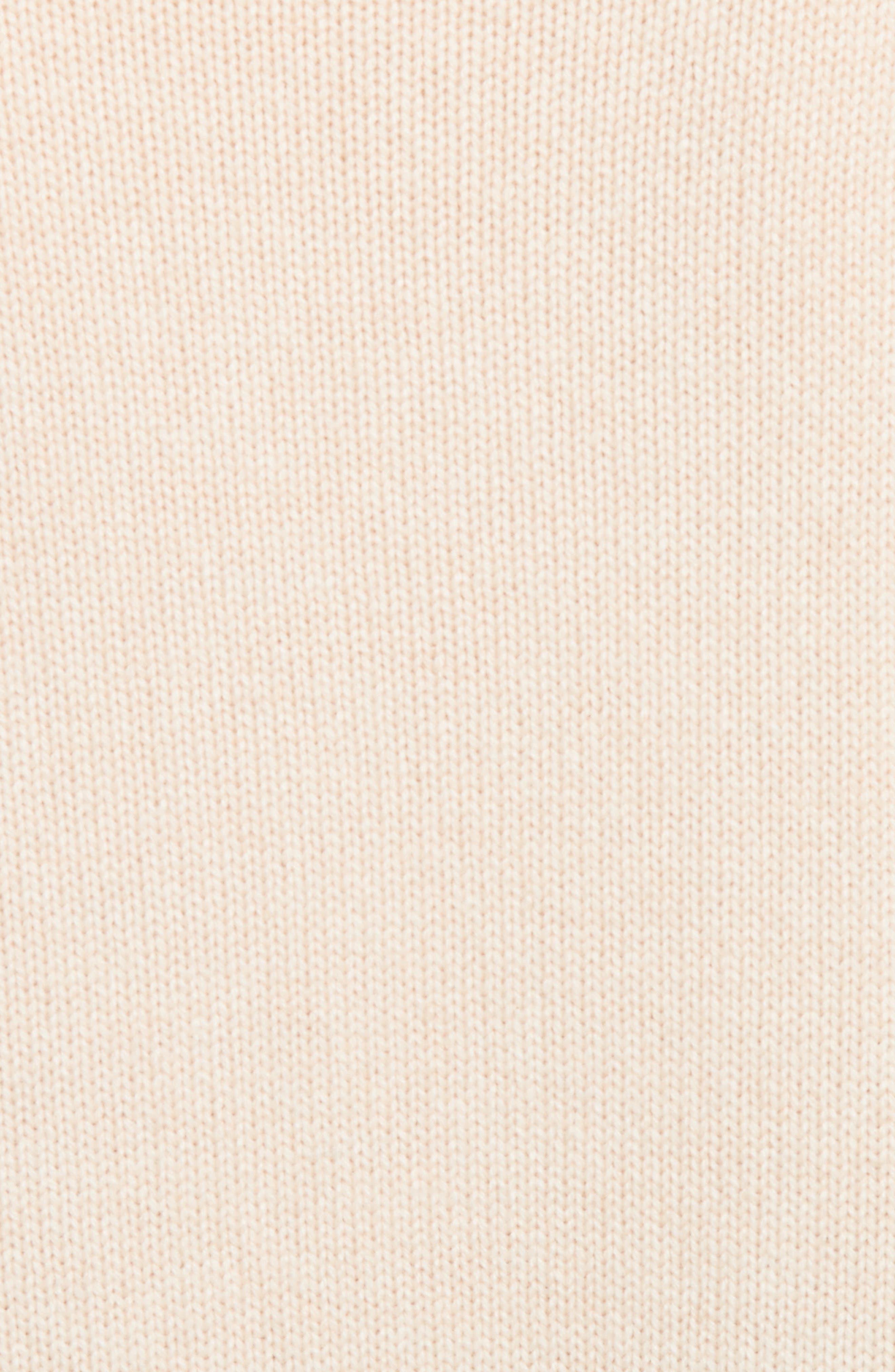 Colorblock Cashmere Turtleneck Sweater,                             Alternate thumbnail 5, color,                             650