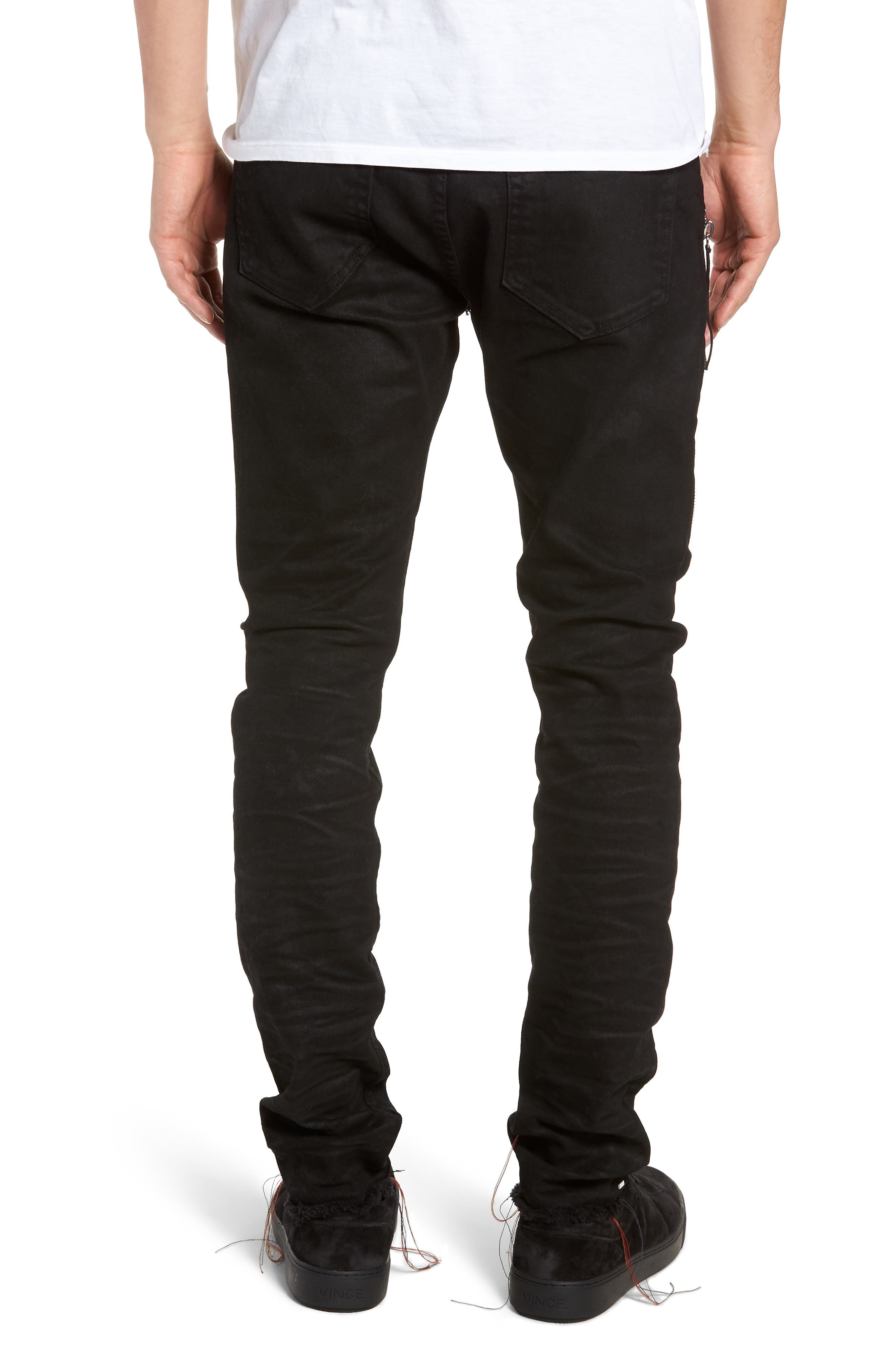 Trafford Skinny Fit Jeans,                             Alternate thumbnail 2, color,                             HERITAGE WAX