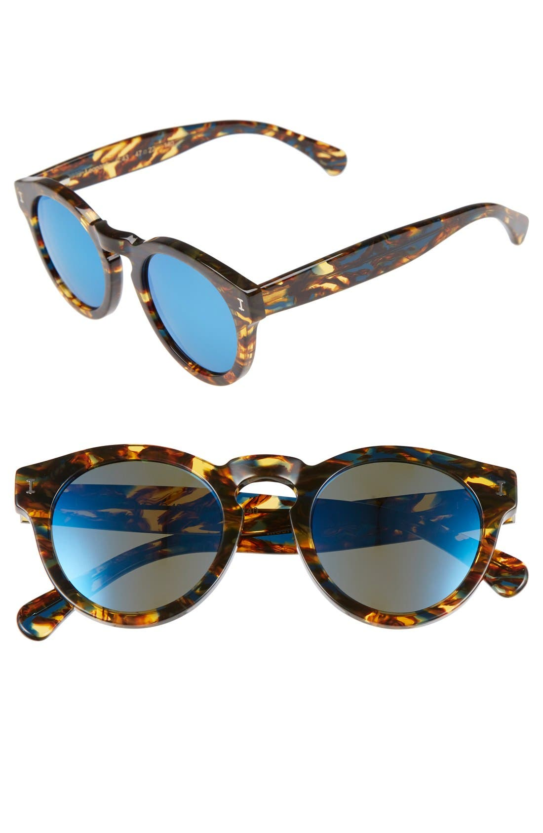 'Leonard' 47mm Sunglasses,                             Main thumbnail 50, color,