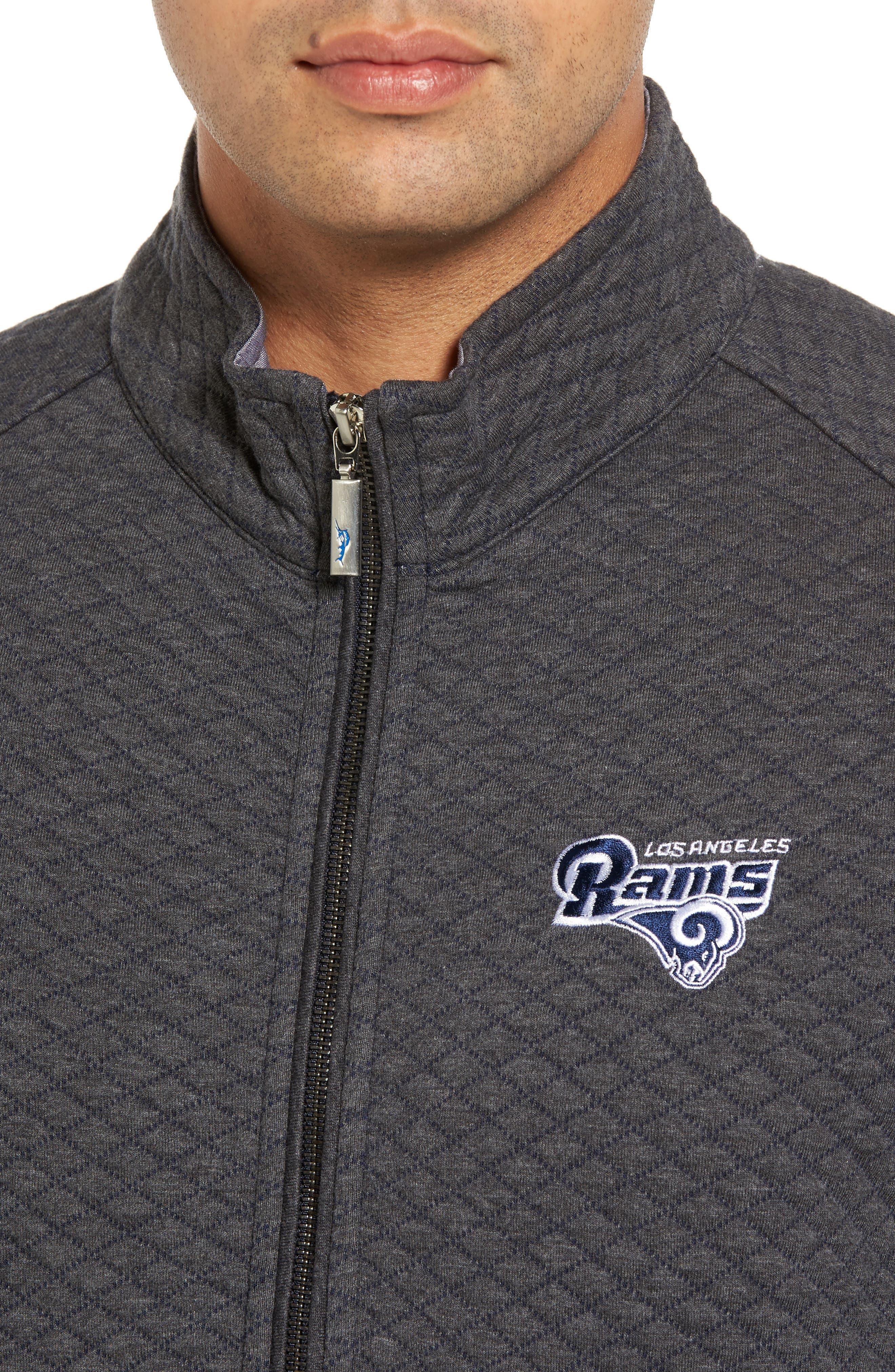 NFL Quiltessential Full Zip Sweatshirt,                             Alternate thumbnail 117, color,