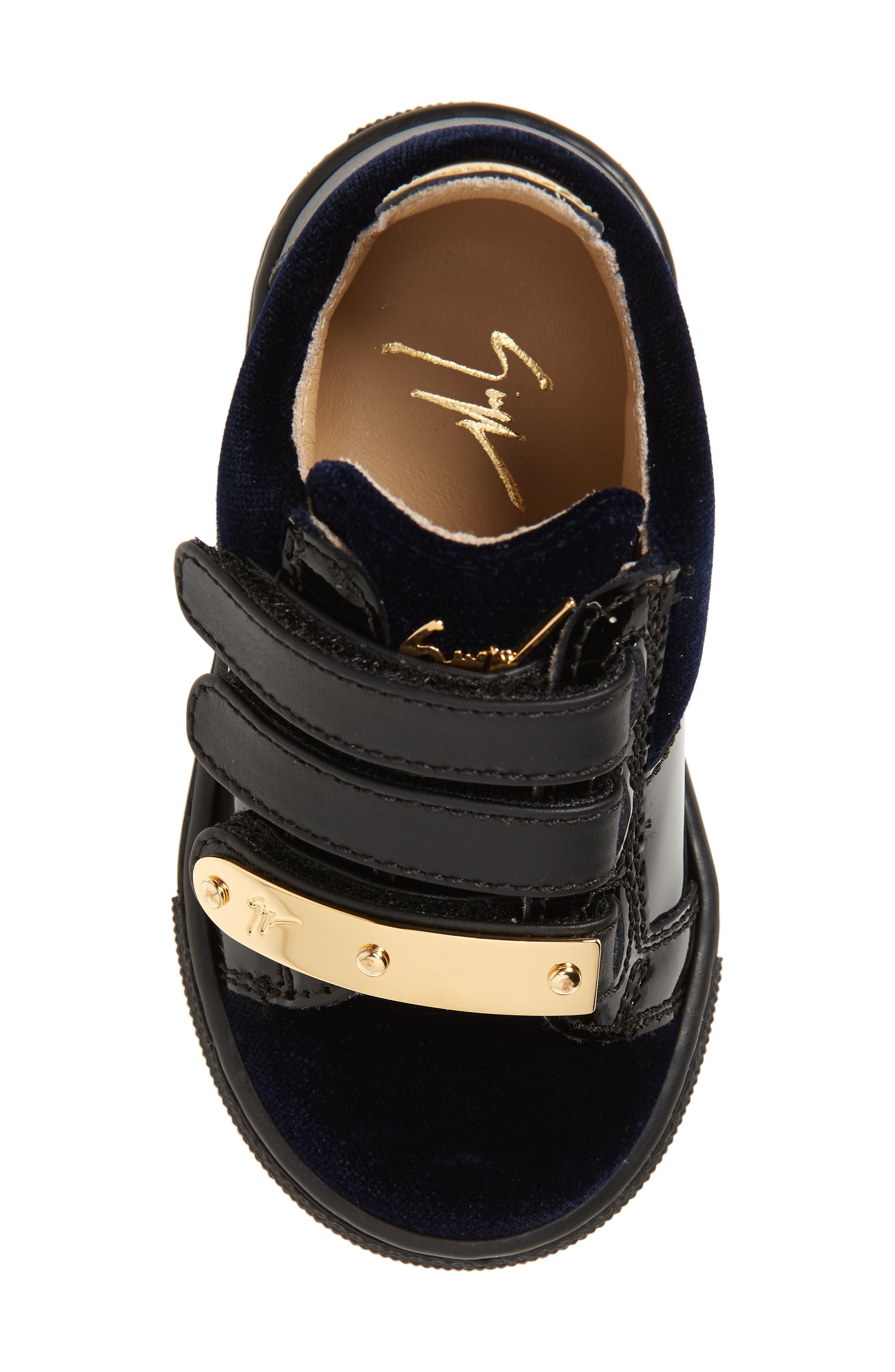 Logoball Strap Sneaker,                             Alternate thumbnail 5, color,                             400