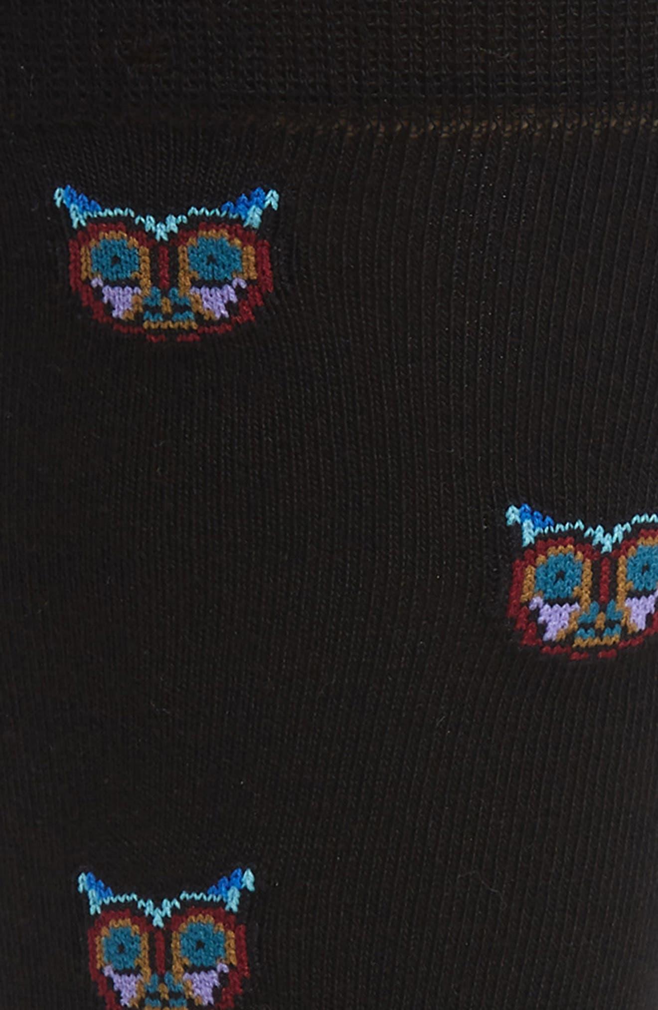Dreamer Socks,                             Alternate thumbnail 2, color,                             BLACK