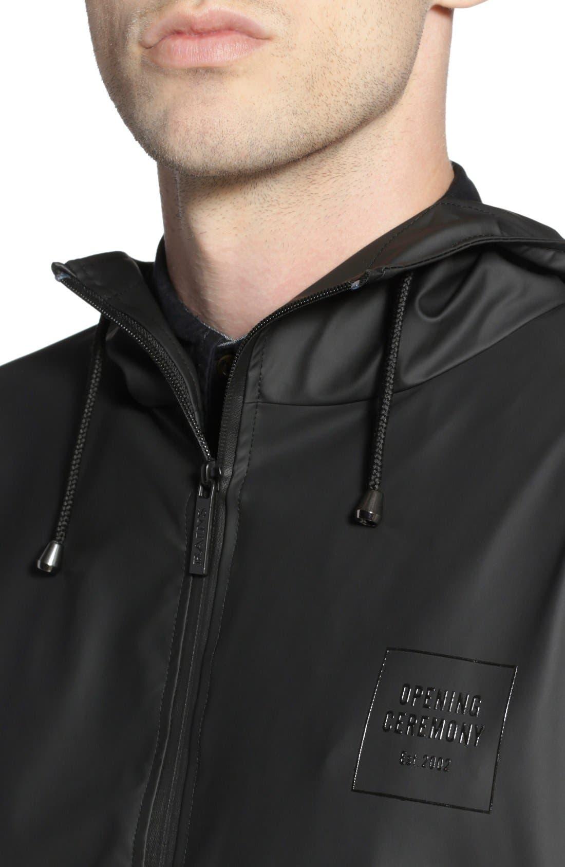 'OC Exclusive' Waterproof Breaker Jacket,                             Alternate thumbnail 5, color,                             001