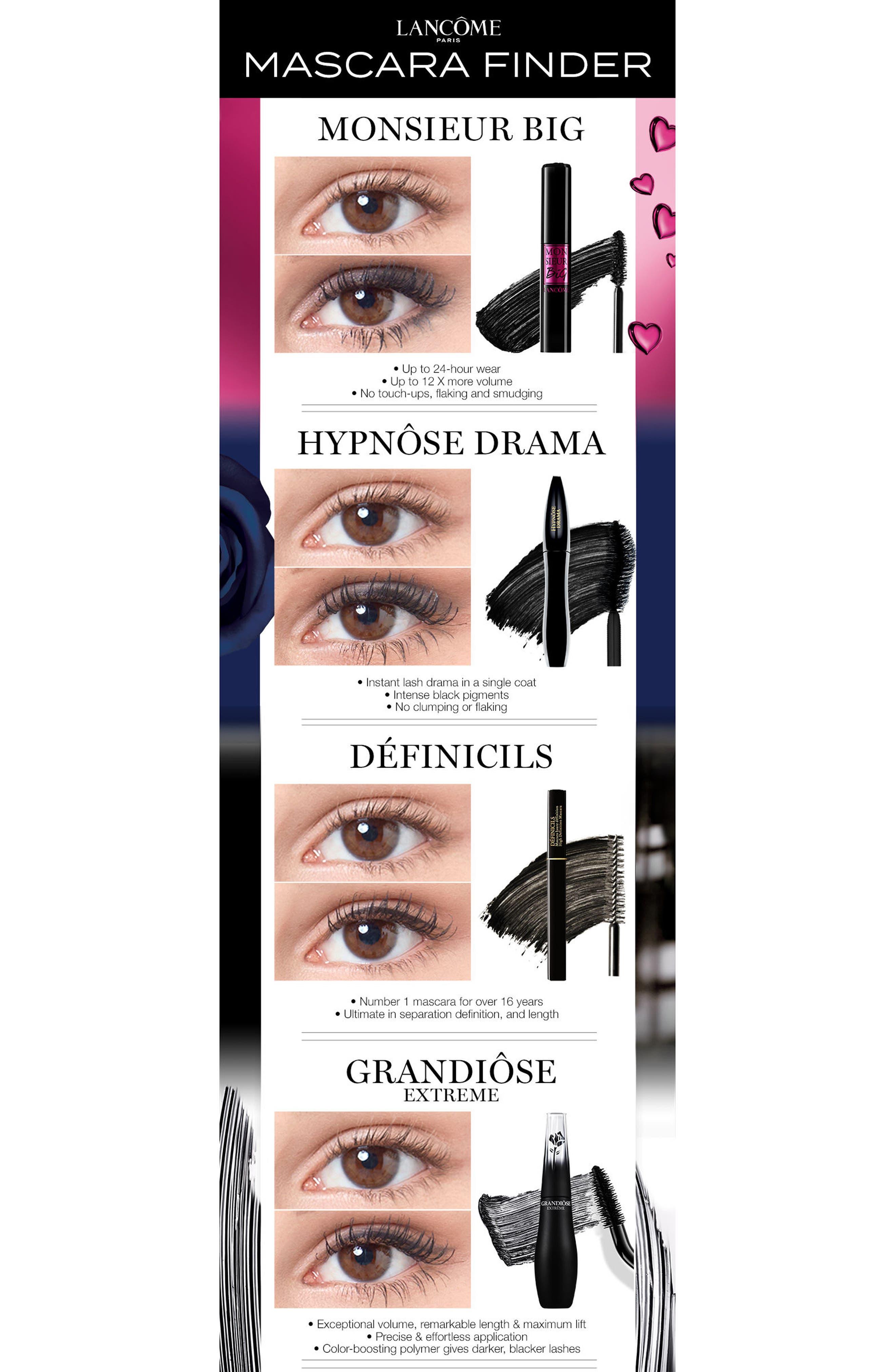 Grandiôse Extrême Mascara,                             Alternate thumbnail 6, color,                             BLACK