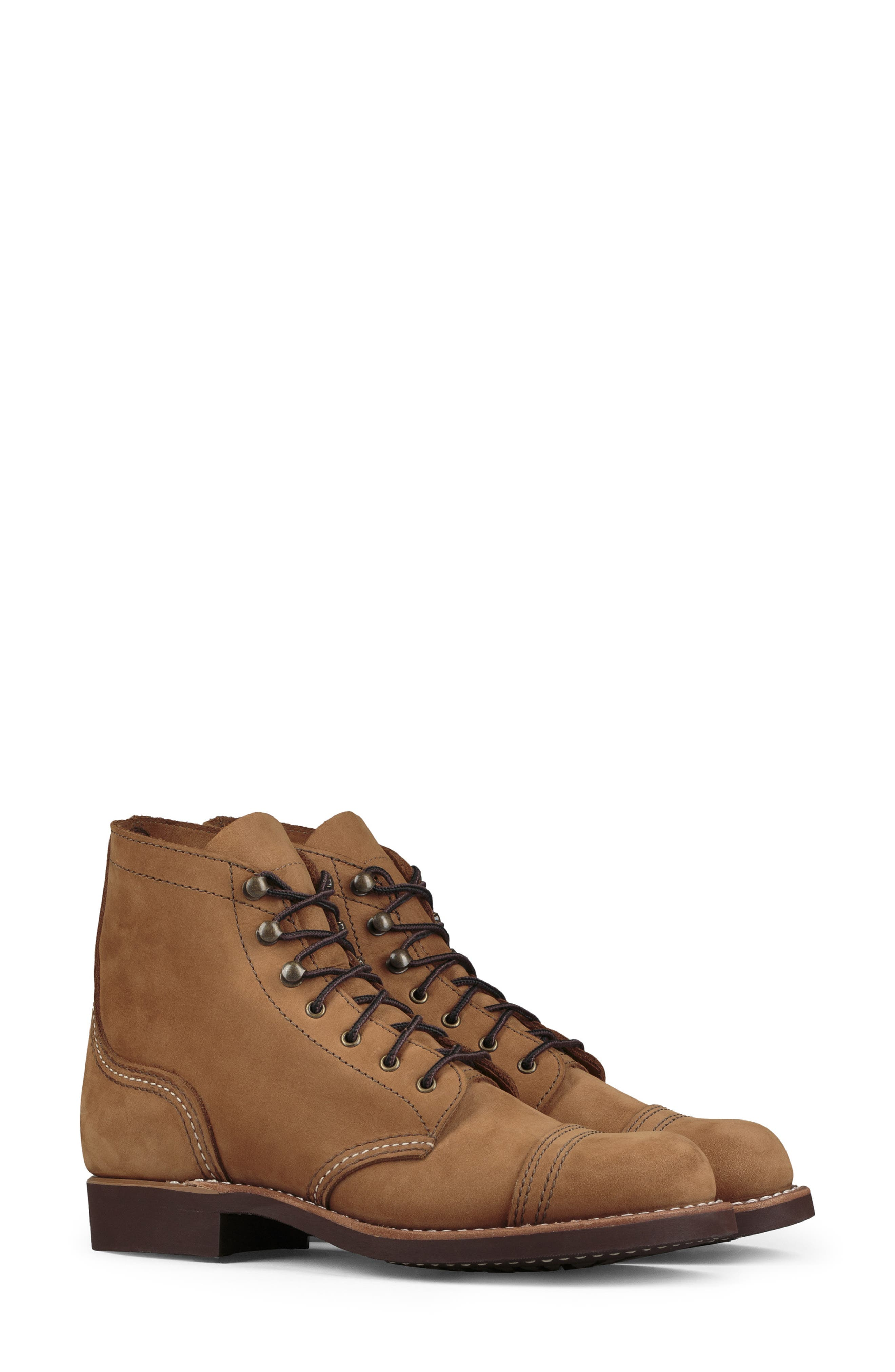 RED WING Iron Ranger Boot in Honey Chinook Leather