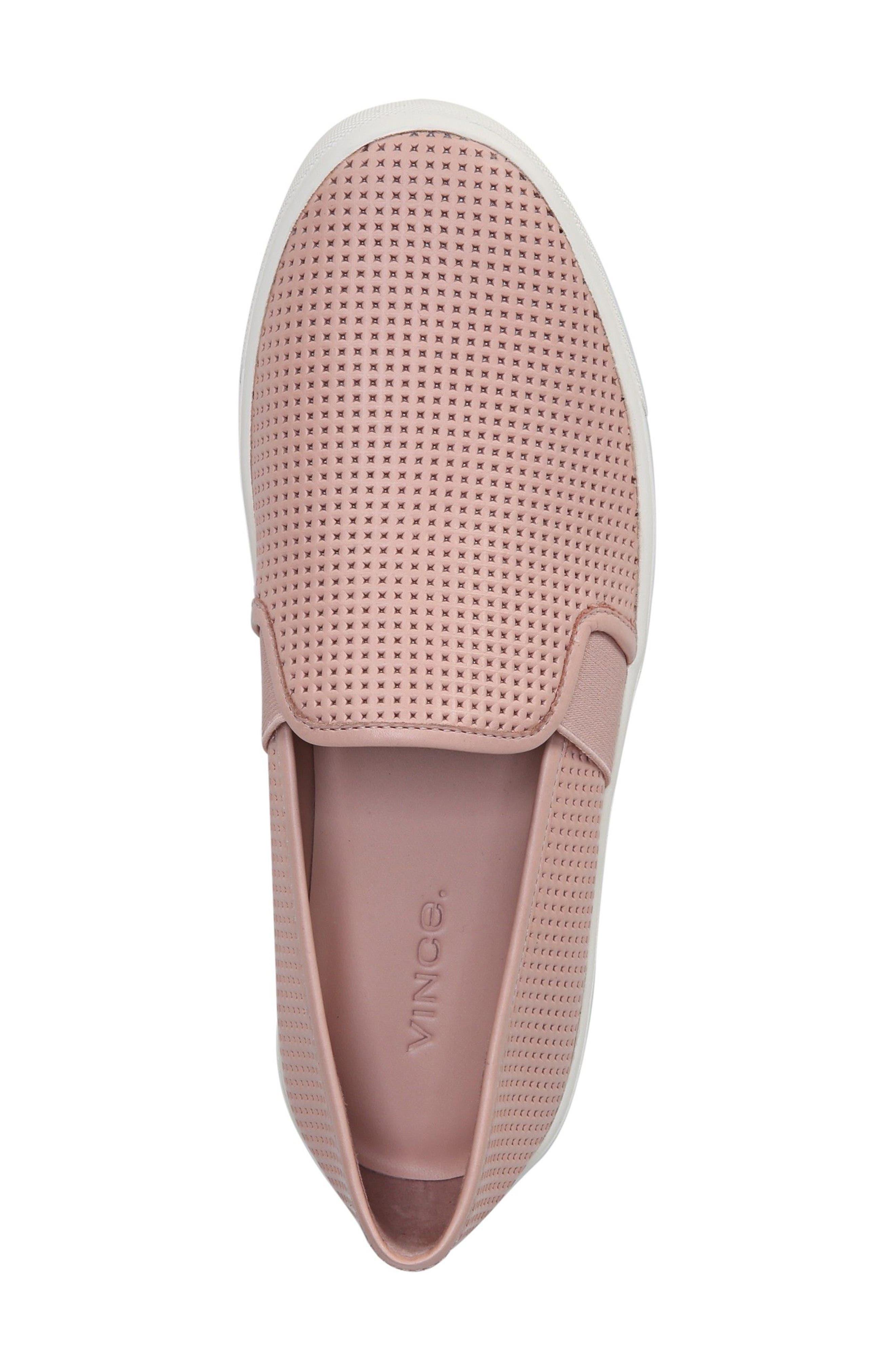 Blair 5 Slip-On Sneaker,                             Alternate thumbnail 5, color,                             ROSE