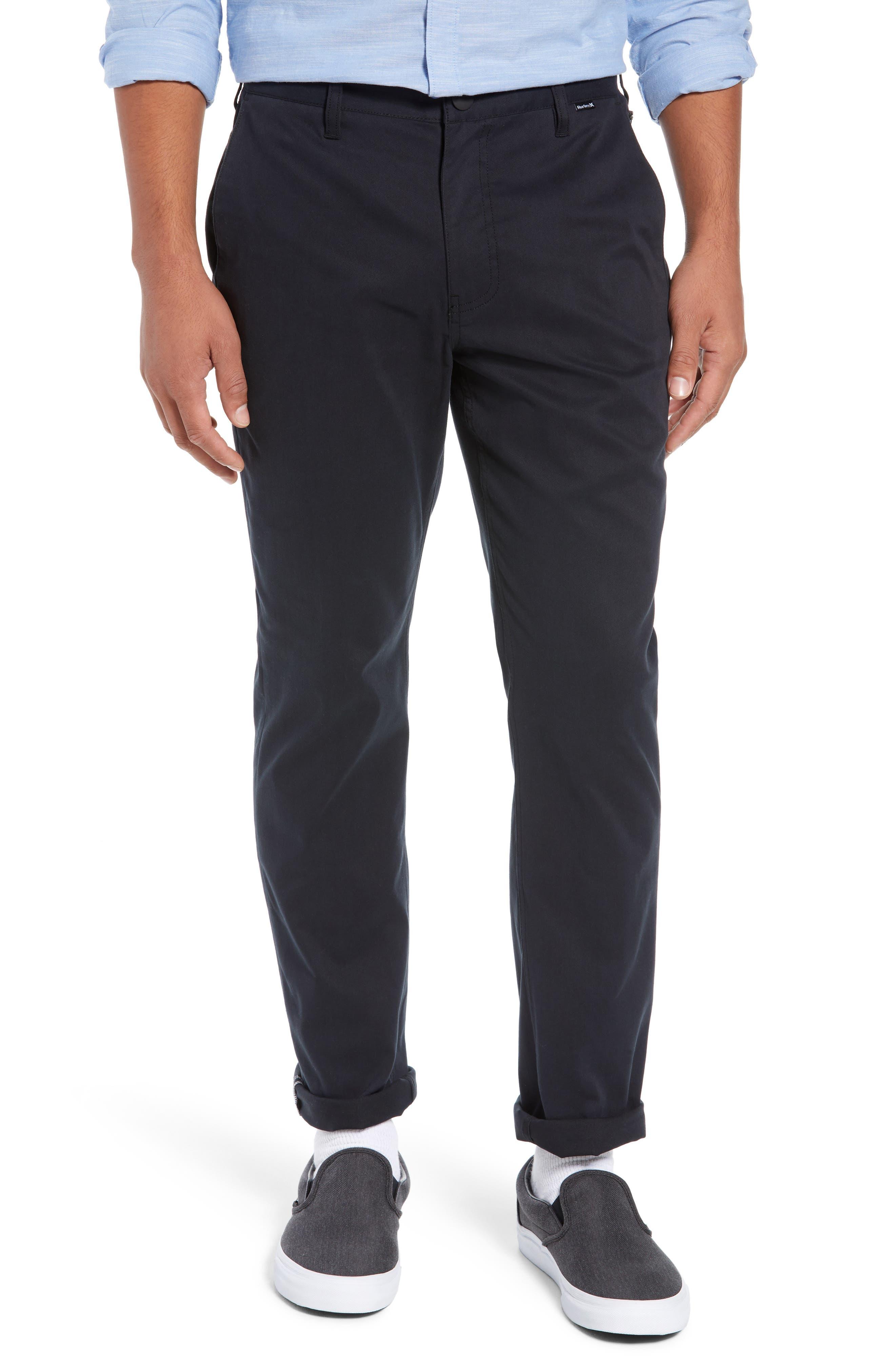 Dri-FIT Pants,                         Main,                         color, BLACK