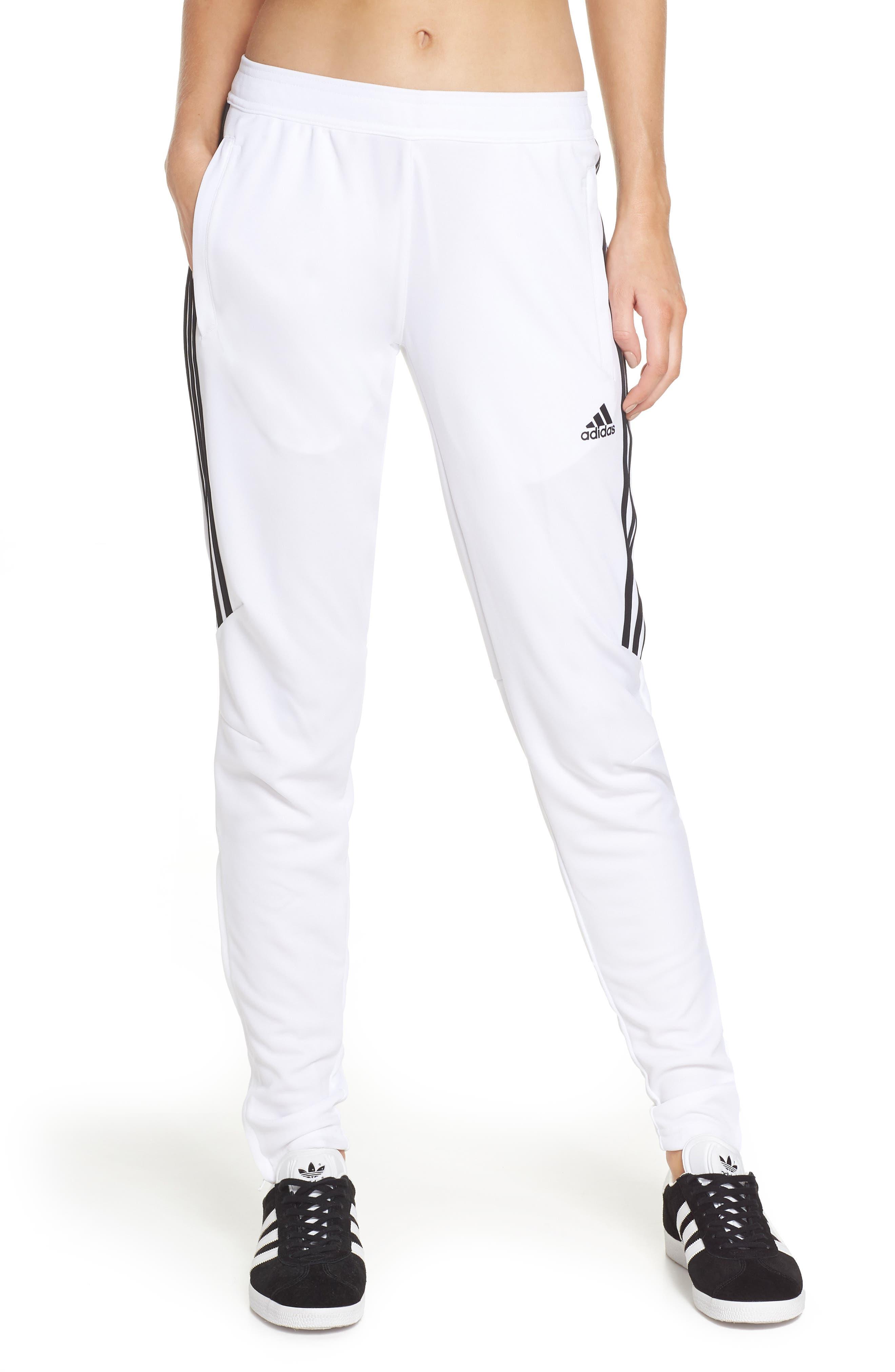 Tiro 17 Training Pants,                         Main,                         color, WHITE/ BLACK