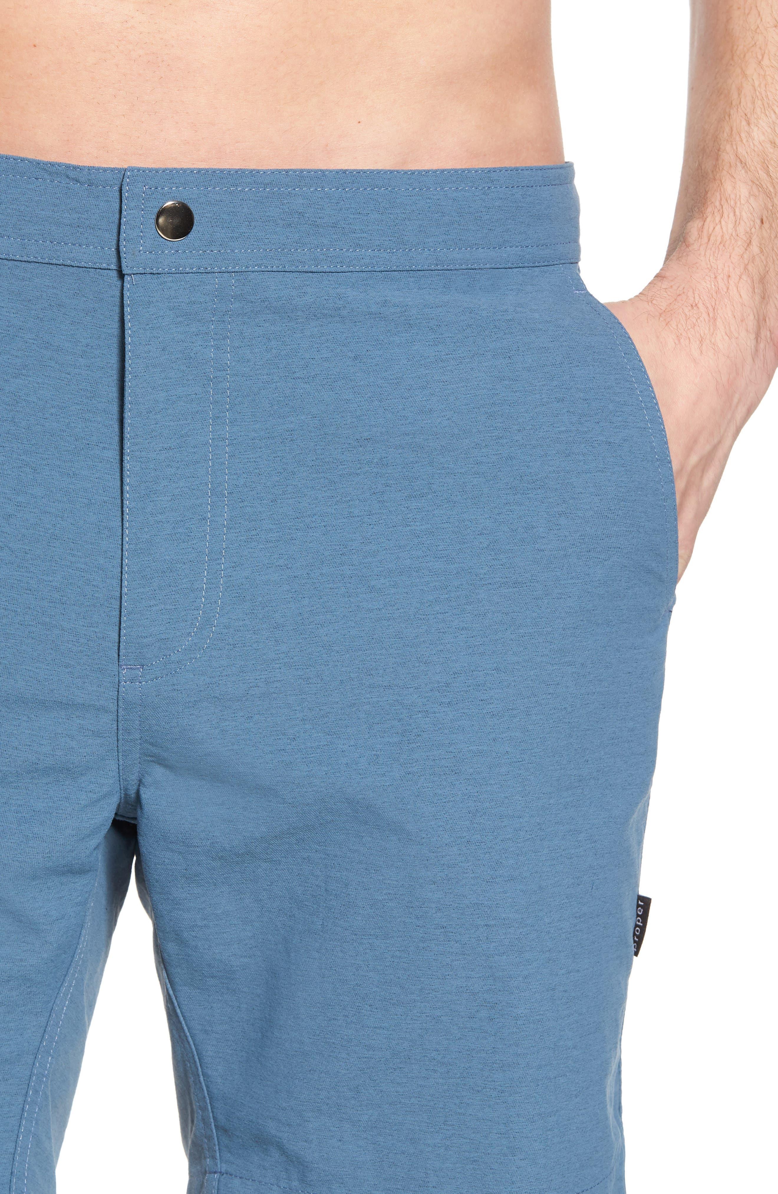 Bond Hybrid Shorts,                             Alternate thumbnail 4, color,                             TIDAL BLUE