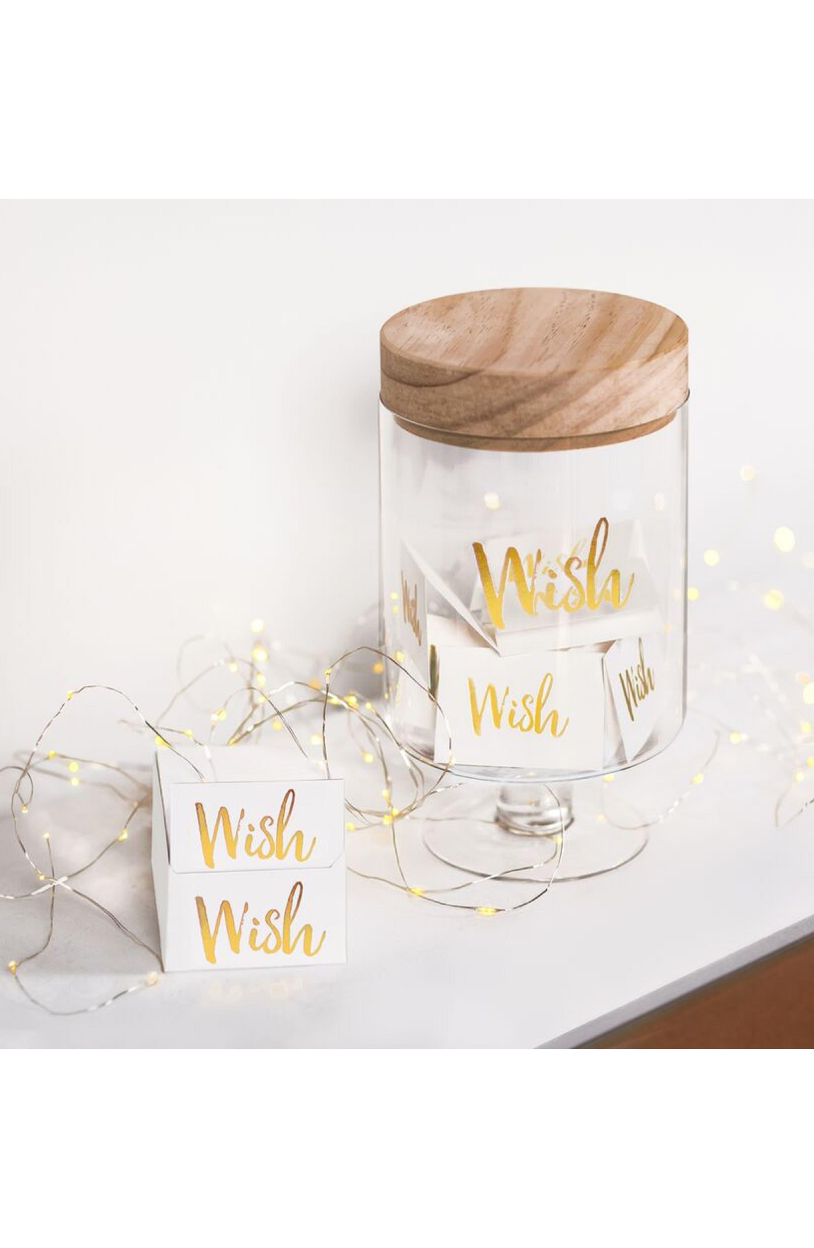 Wish Jar,                             Alternate thumbnail 2, color,                             GOLD