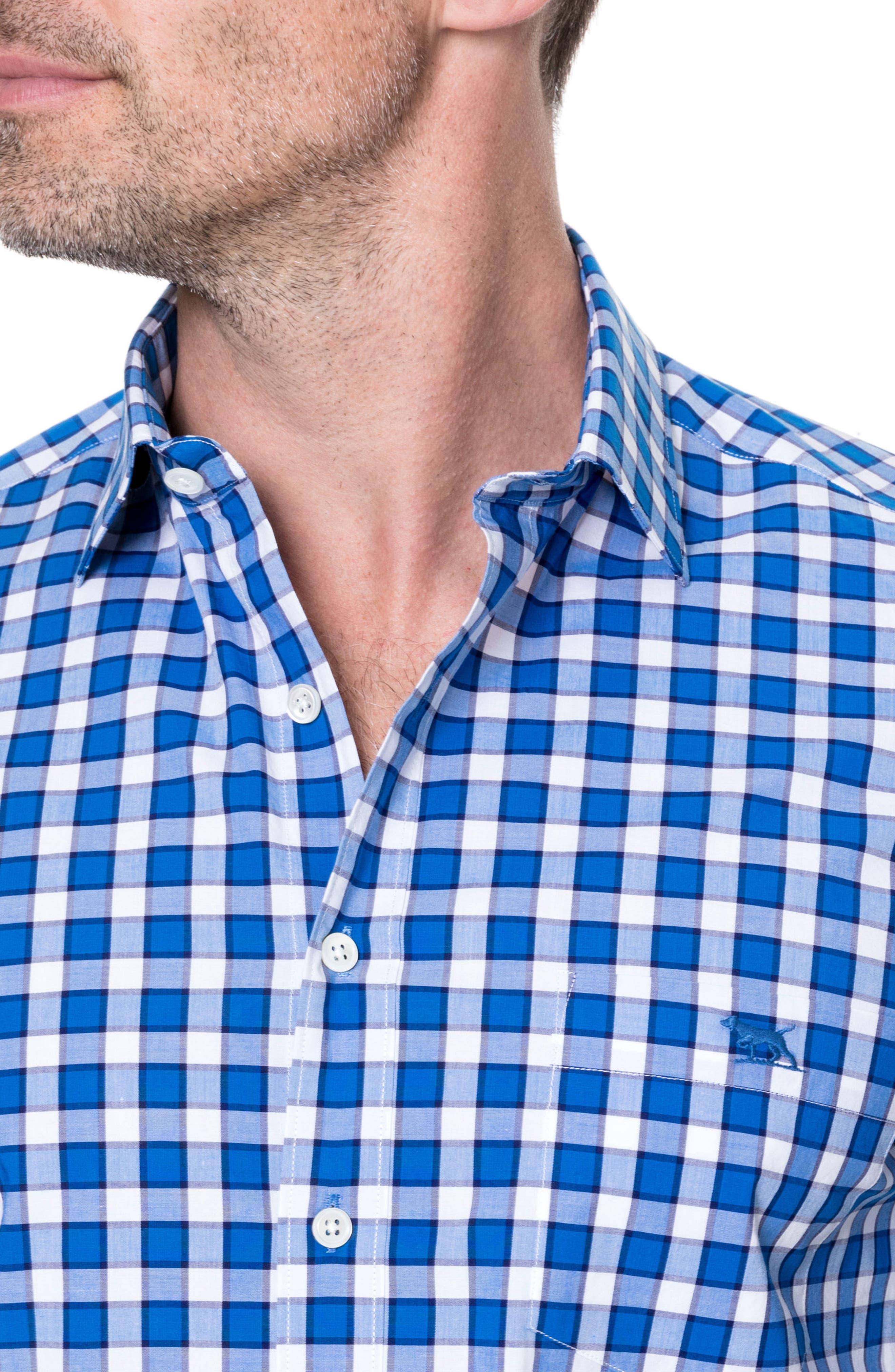 Cedarwood Regular Fit Sport Shirt,                             Alternate thumbnail 3, color,                             459