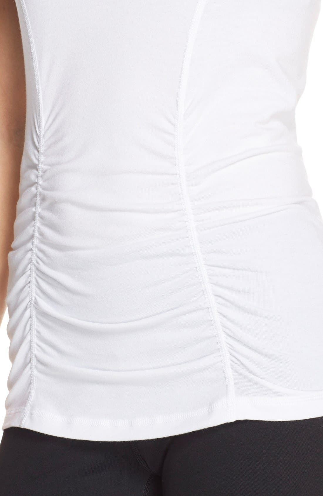 'Z 6' Ruched Tee,                             Alternate thumbnail 50, color,