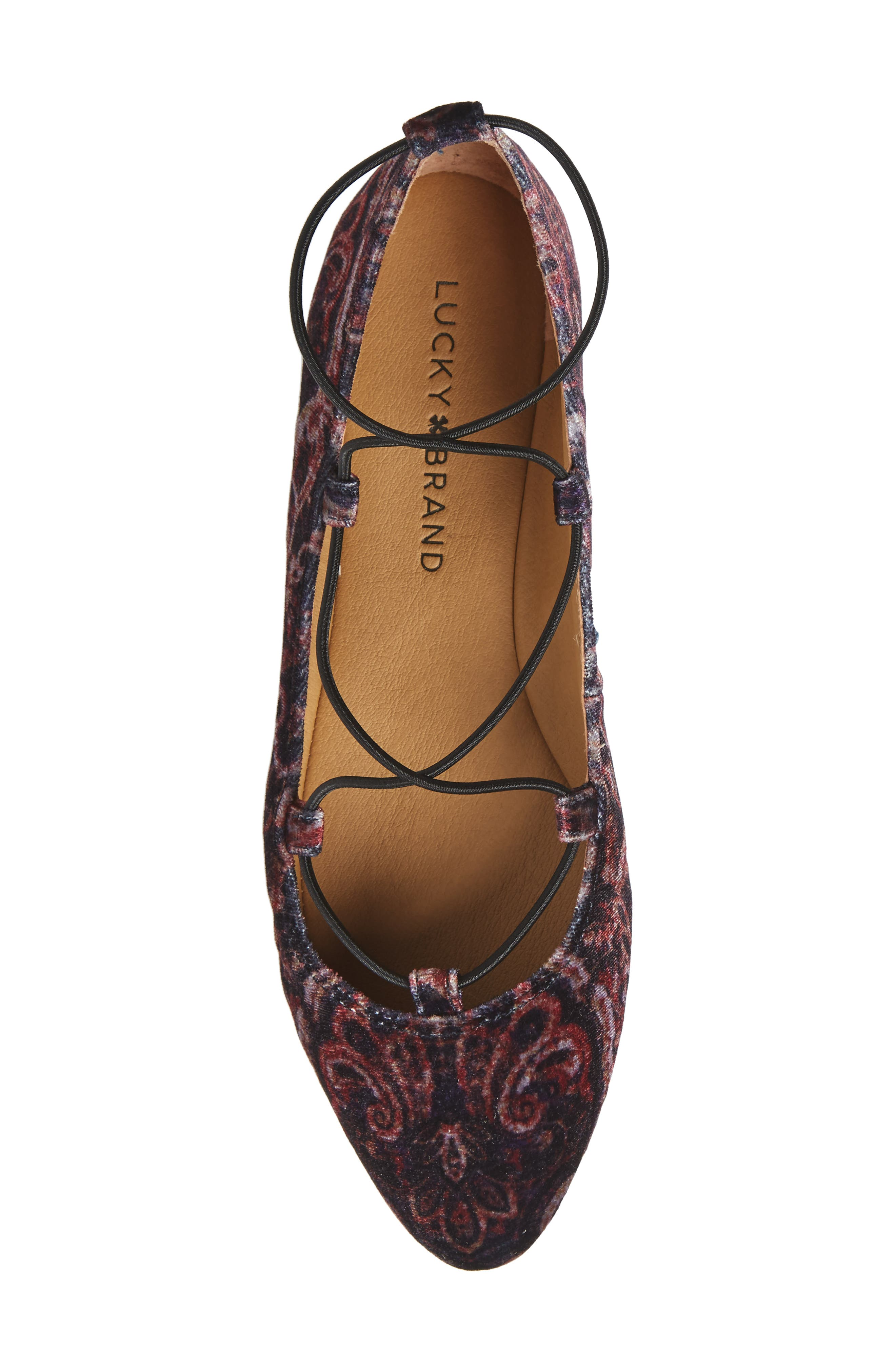 'Aviee' Lace-Up Flat,                             Alternate thumbnail 37, color,