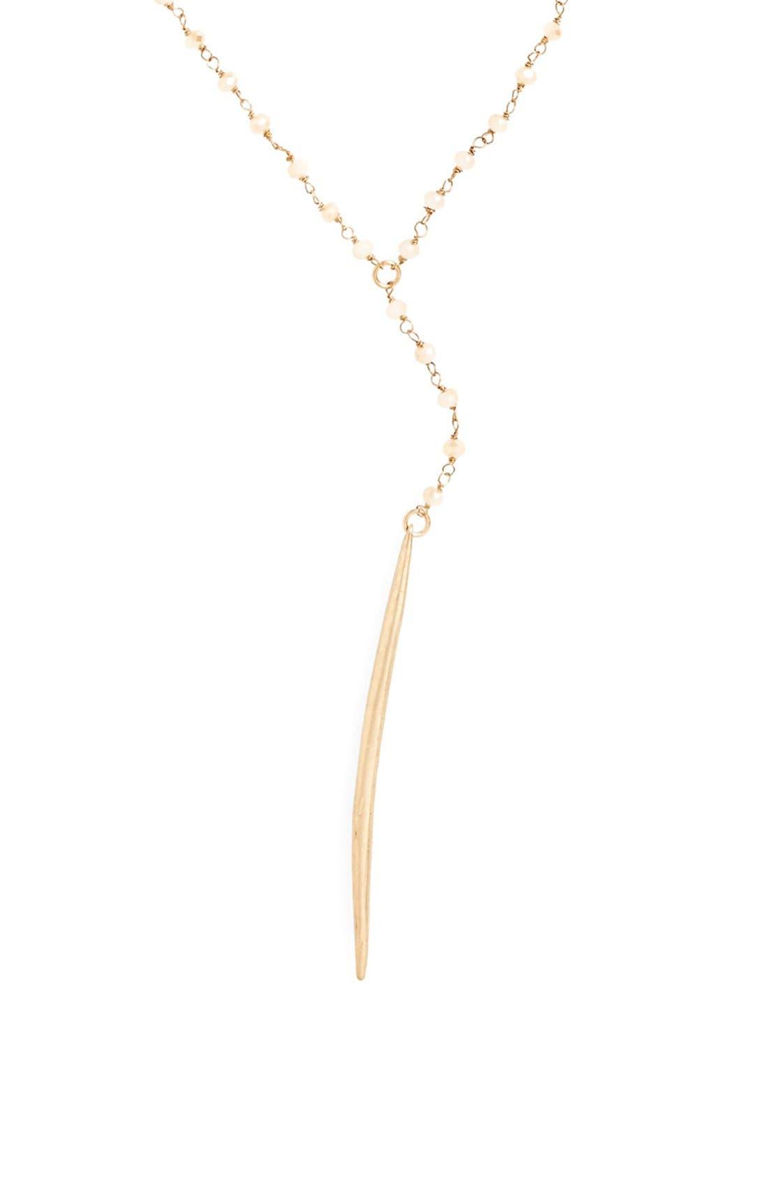 Spear Pendant Necklace,                             Alternate thumbnail 2, color,                             250