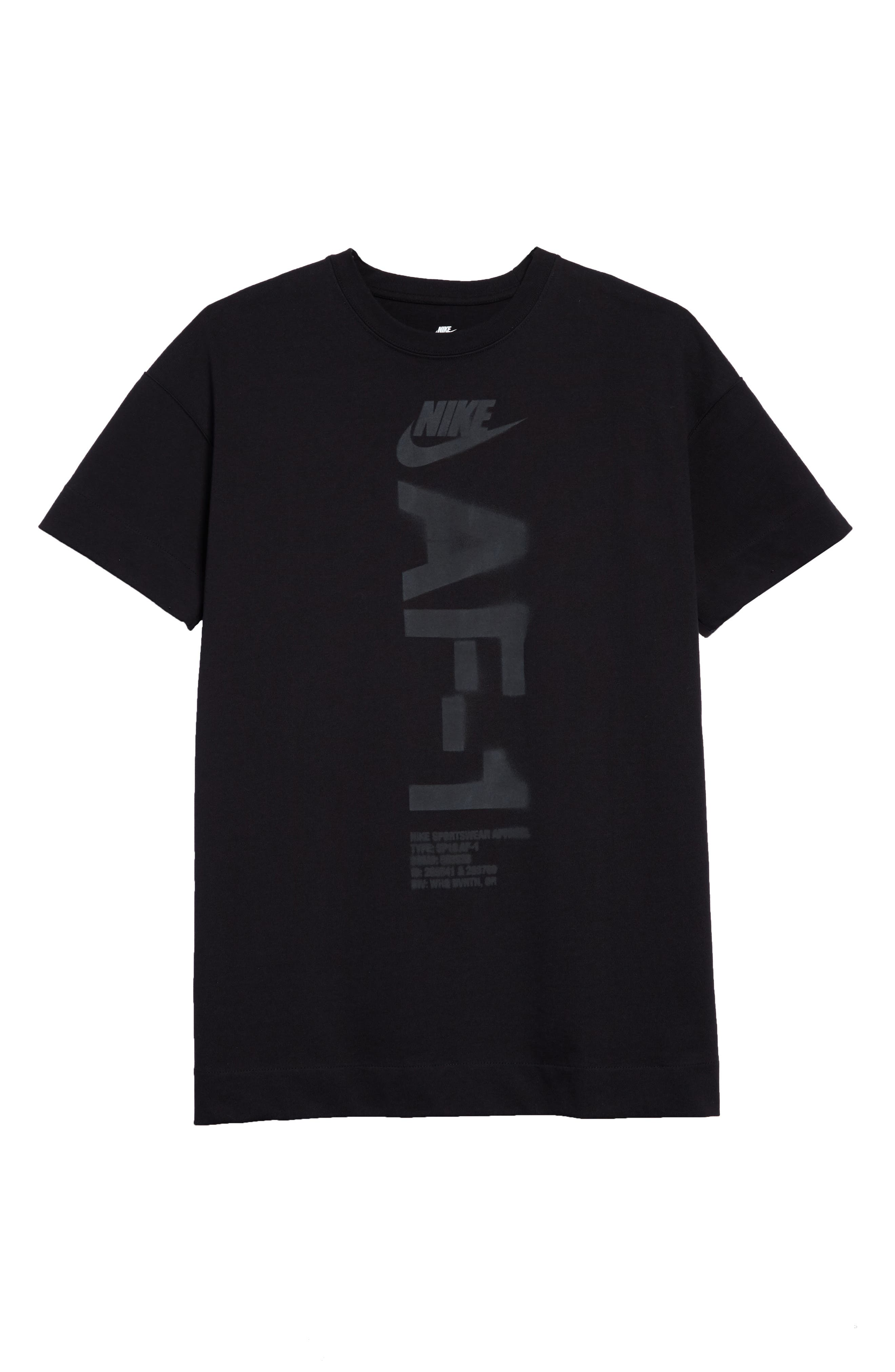 NSW Heavyweight AF-1 T-Shirt,                             Alternate thumbnail 6, color,                             010