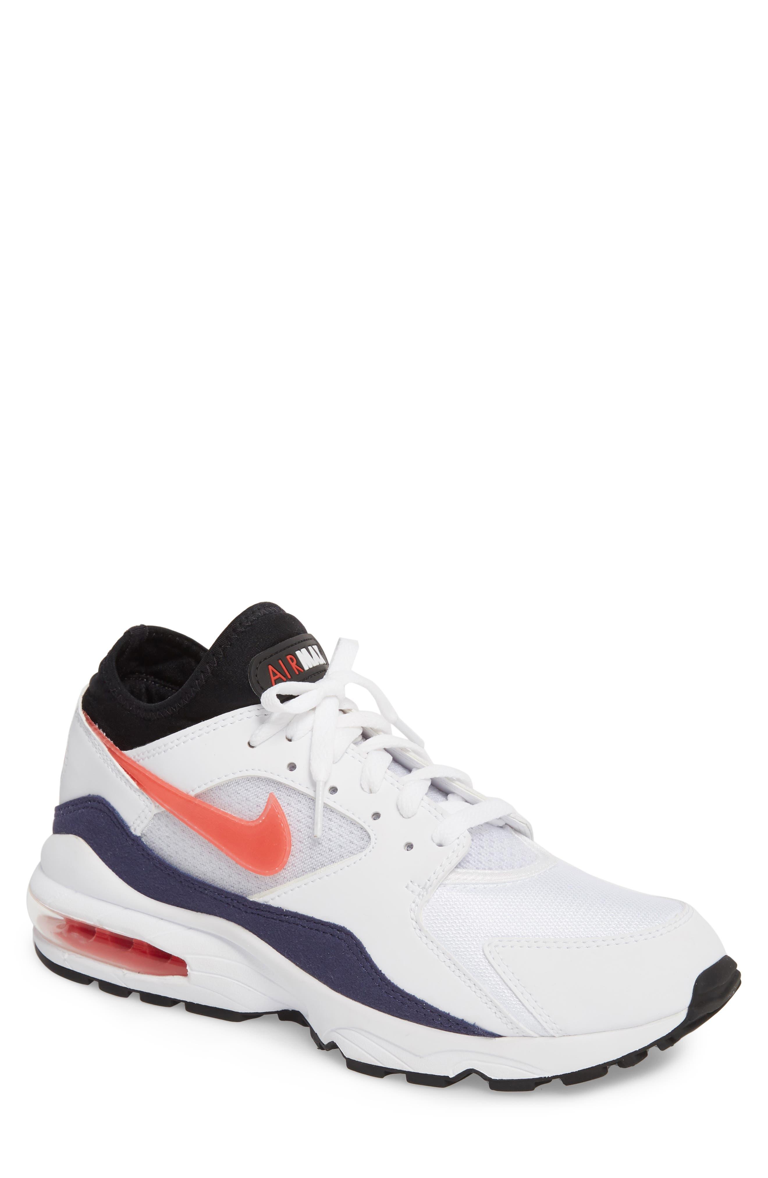NIKE Air Max 93 Sneaker, Main, color, 102