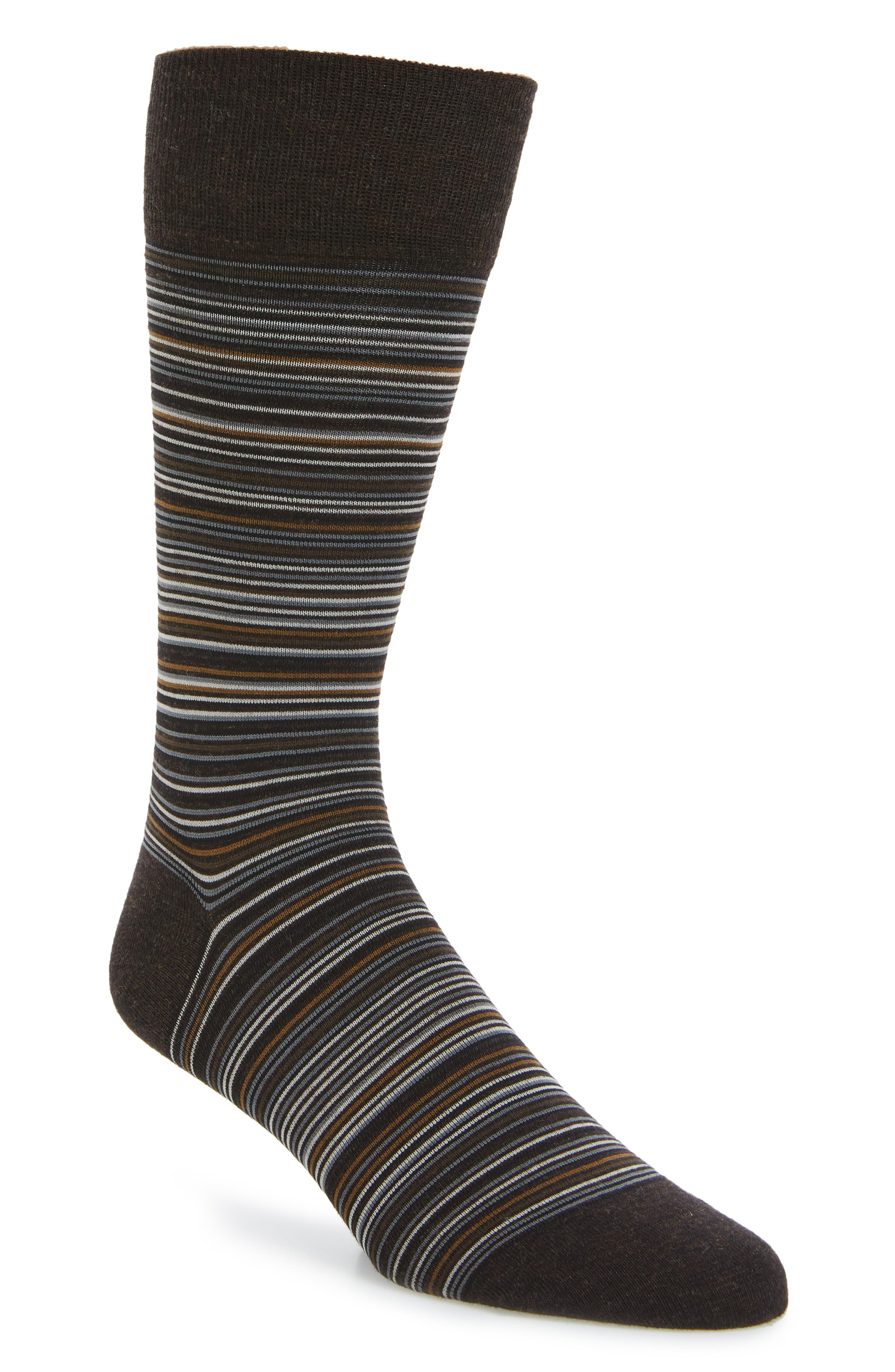 Multistripe Crew Socks,                             Main thumbnail 9, color,