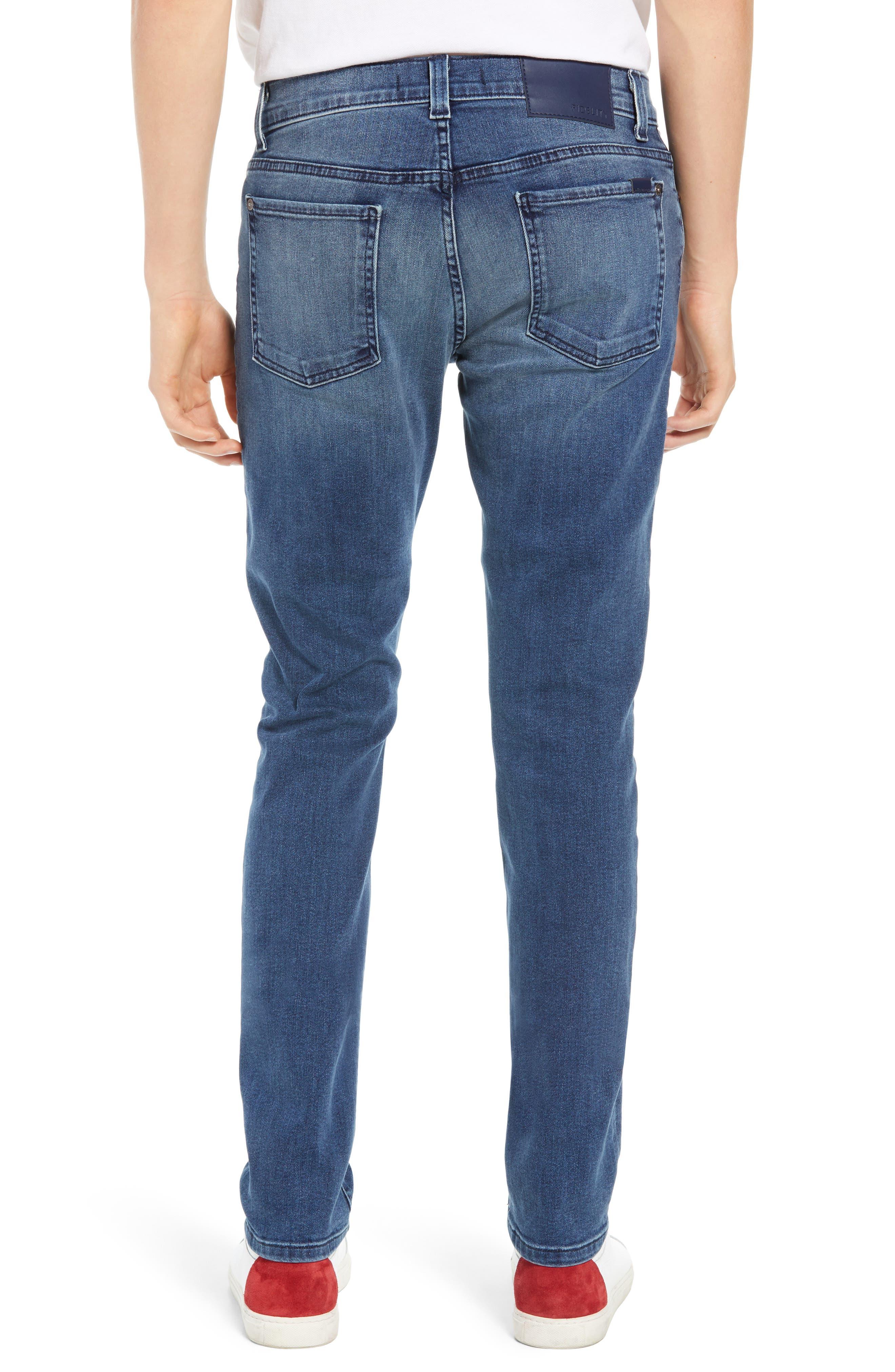 Torino Slim Fit Jeans,                             Alternate thumbnail 2, color,                             EMPIRE BLUE