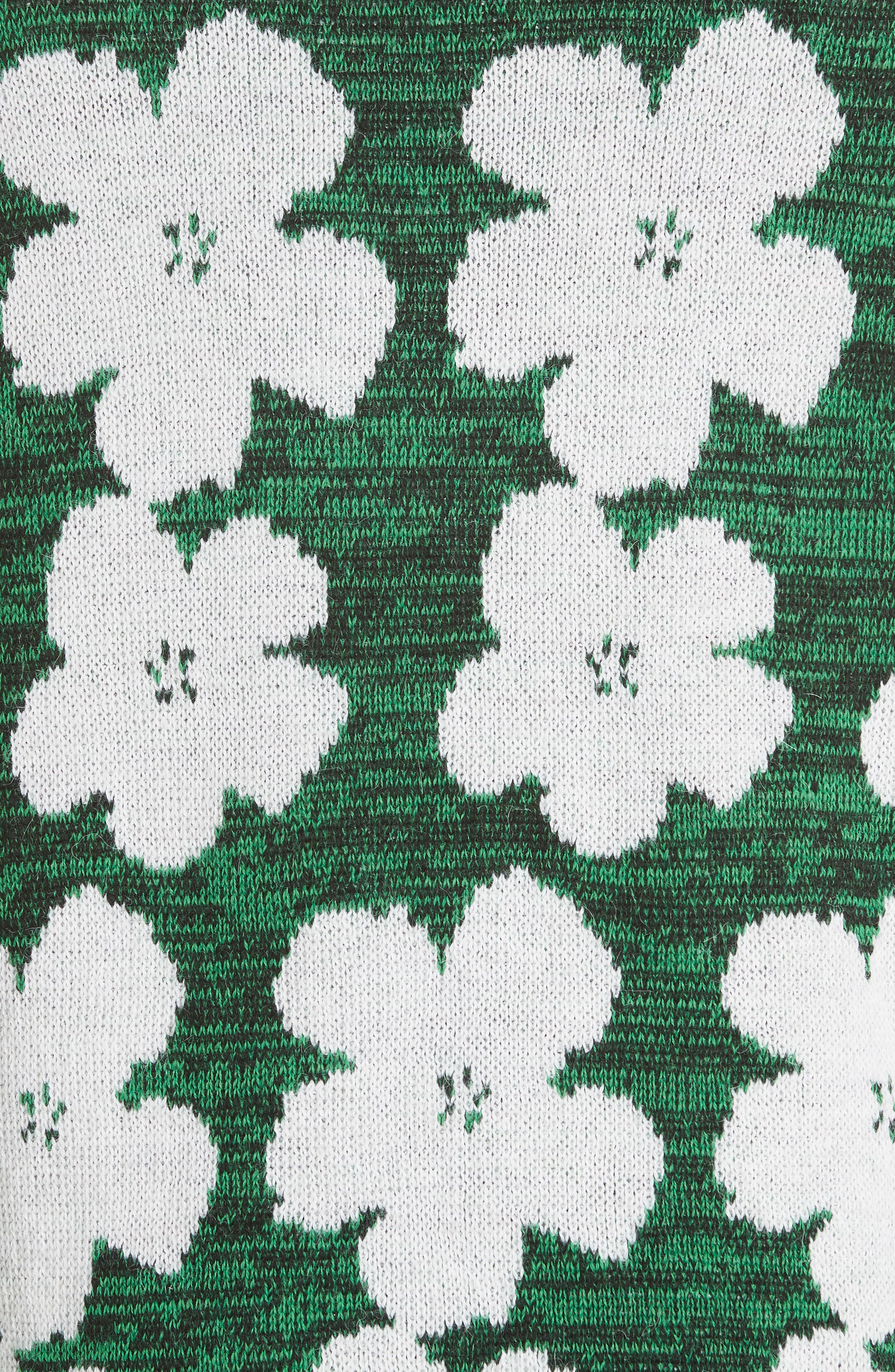 Andy Warhol Flower Sweater,                             Alternate thumbnail 5, color,                             320