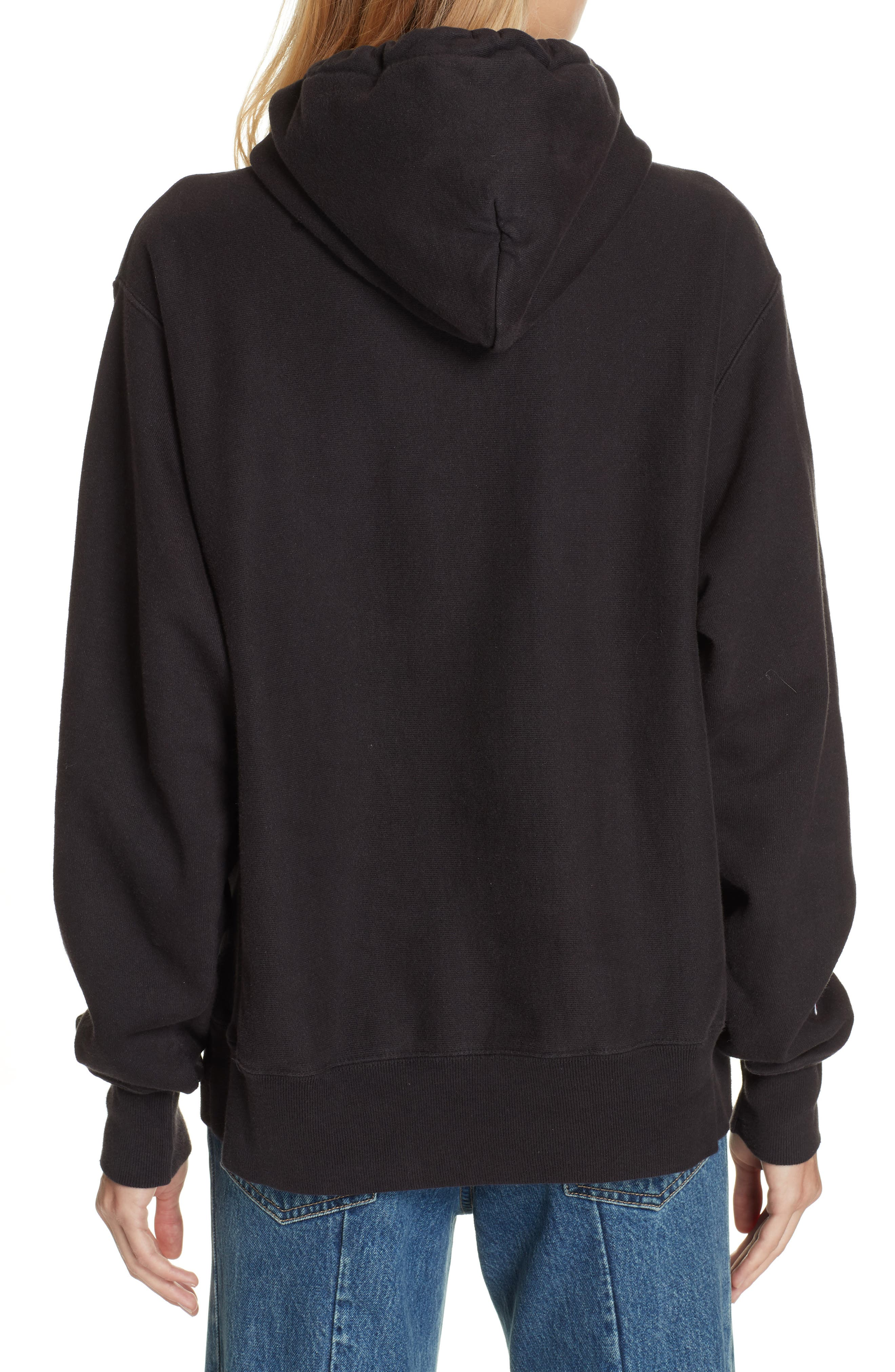 x MCM Pullover Hoodie,                             Alternate thumbnail 3, color,                             001