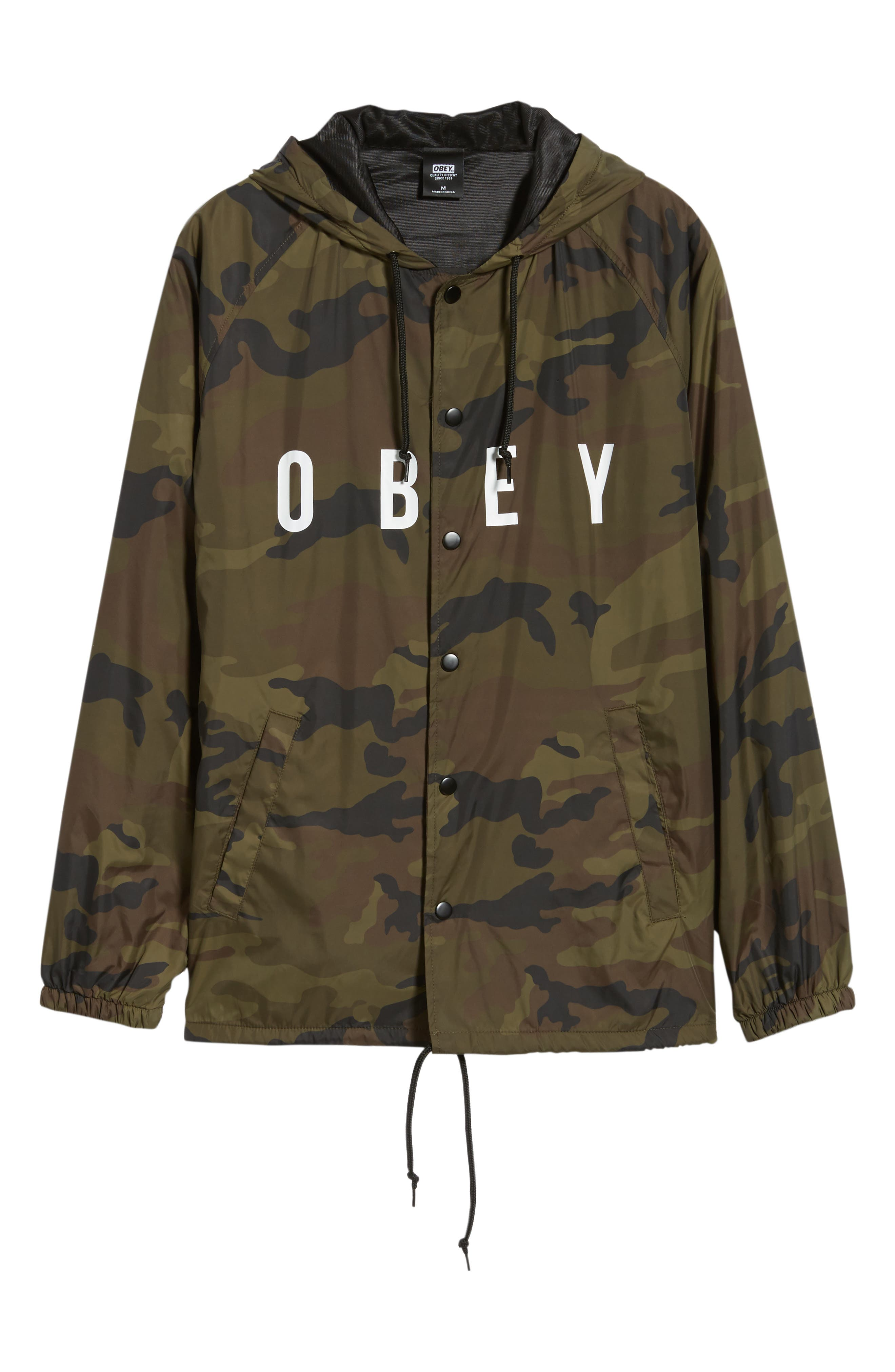 Anyway Coach's Jacket,                             Alternate thumbnail 6, color,                             CAMO