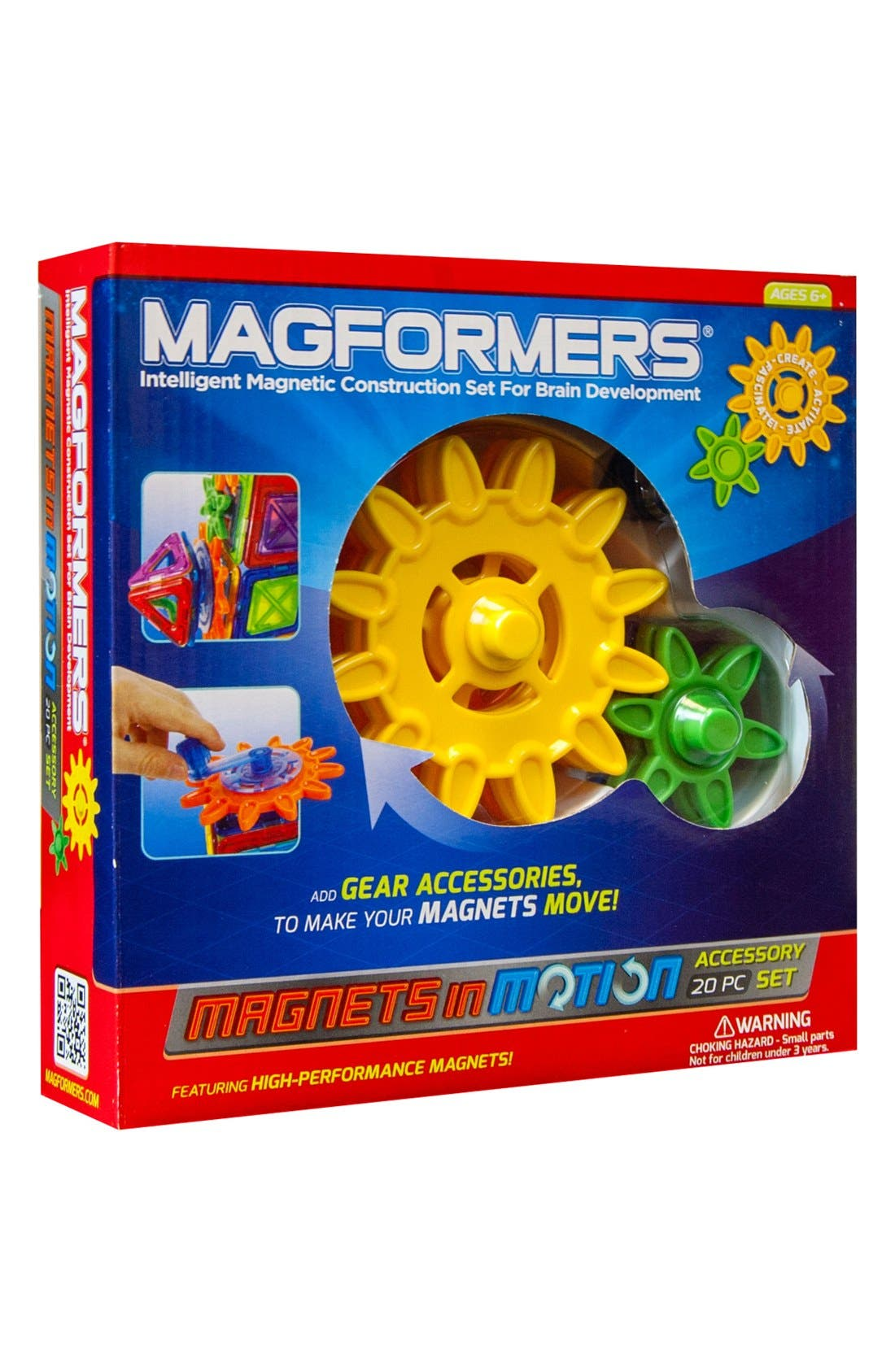 'Magnets in Motion' Construction Set,                         Main,                         color, 960