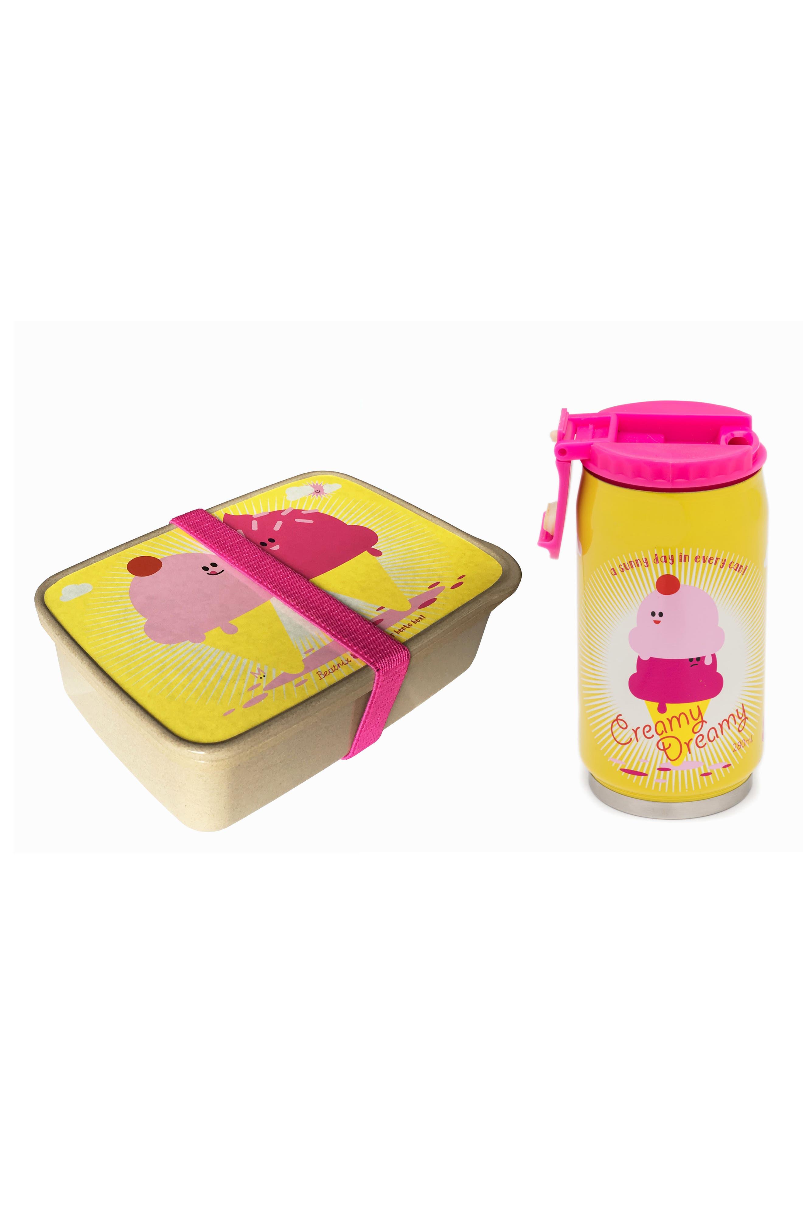 Bento Box & Bottle Set,                             Main thumbnail 6, color,