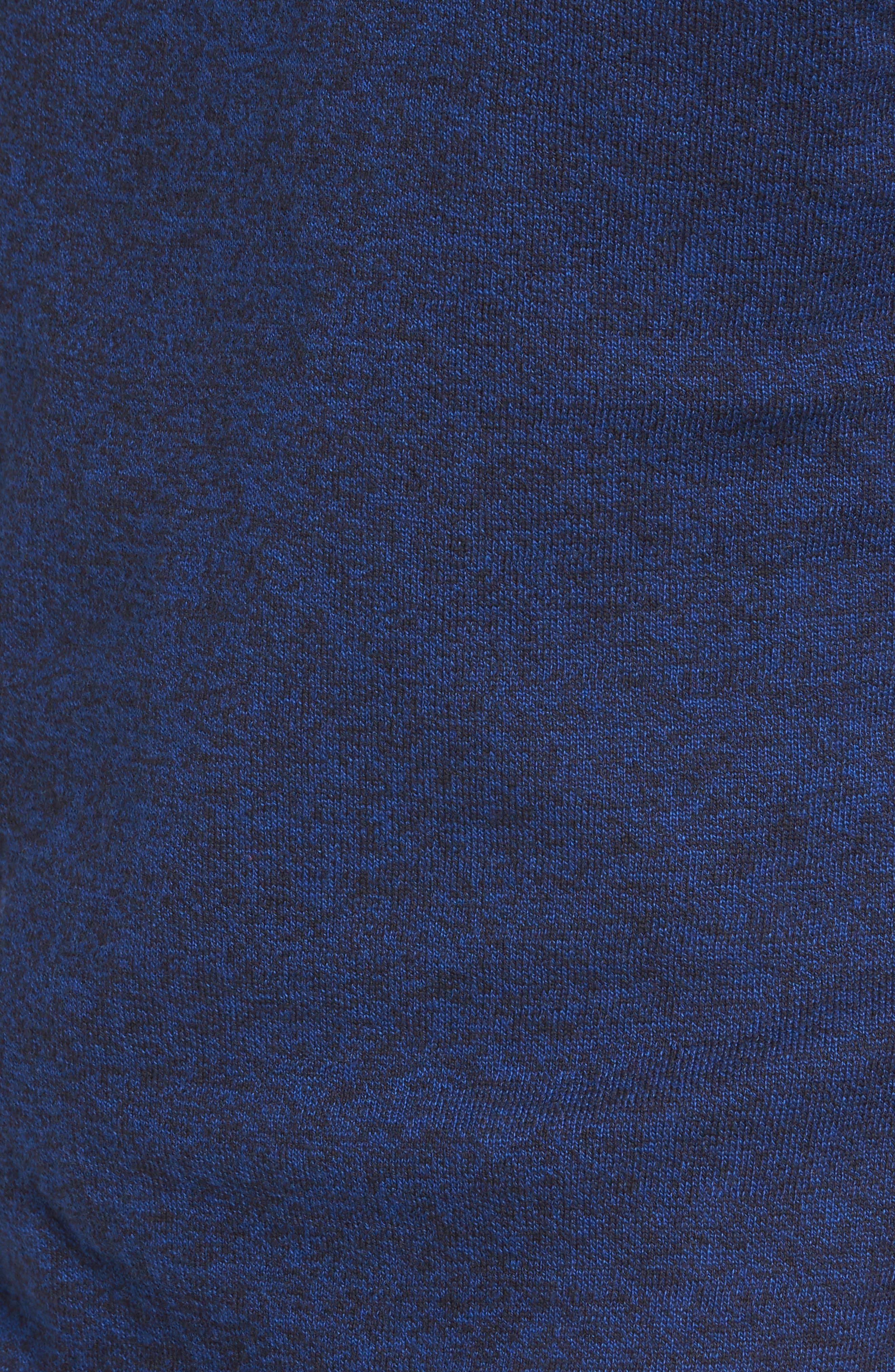 Saddle Shoulder Cotton & Cashmere V-Neck Sweater,                             Alternate thumbnail 38, color,