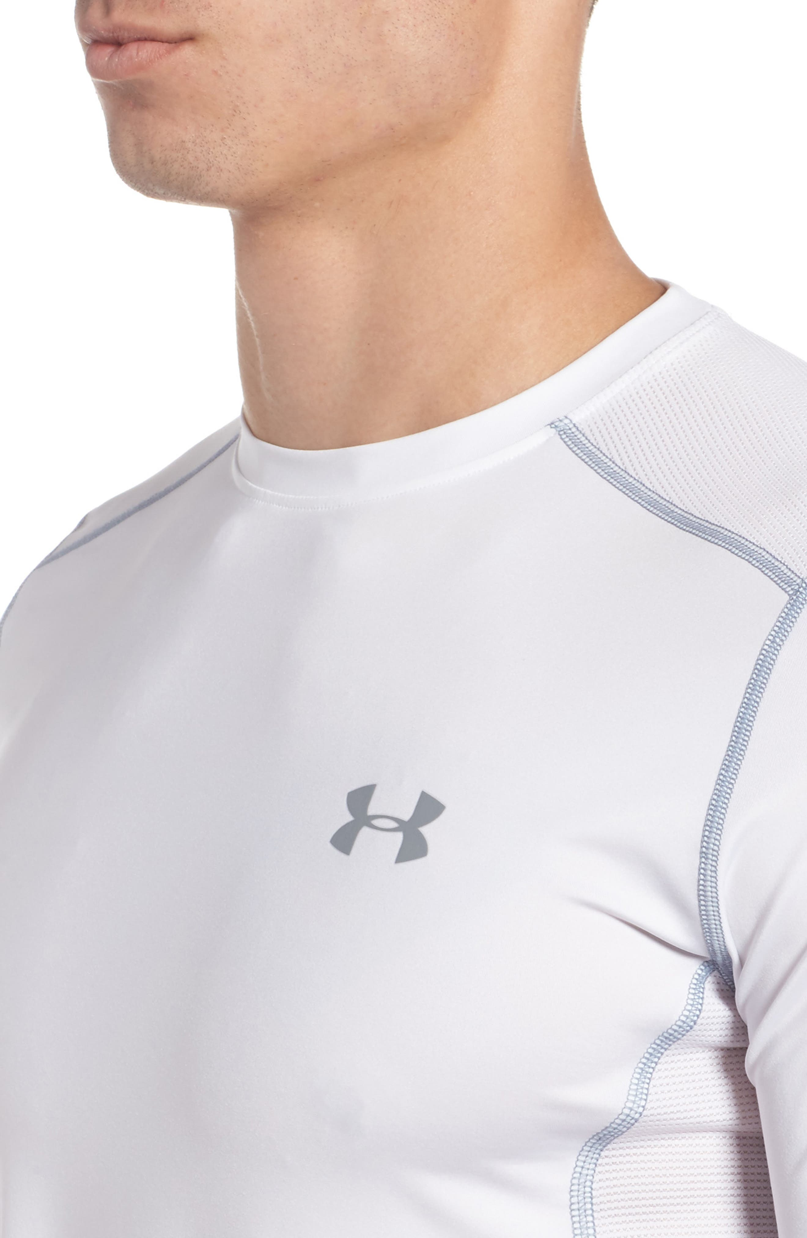 'Raid' HeatGear<sup>®</sup> Training T-Shirt,                             Alternate thumbnail 105, color,