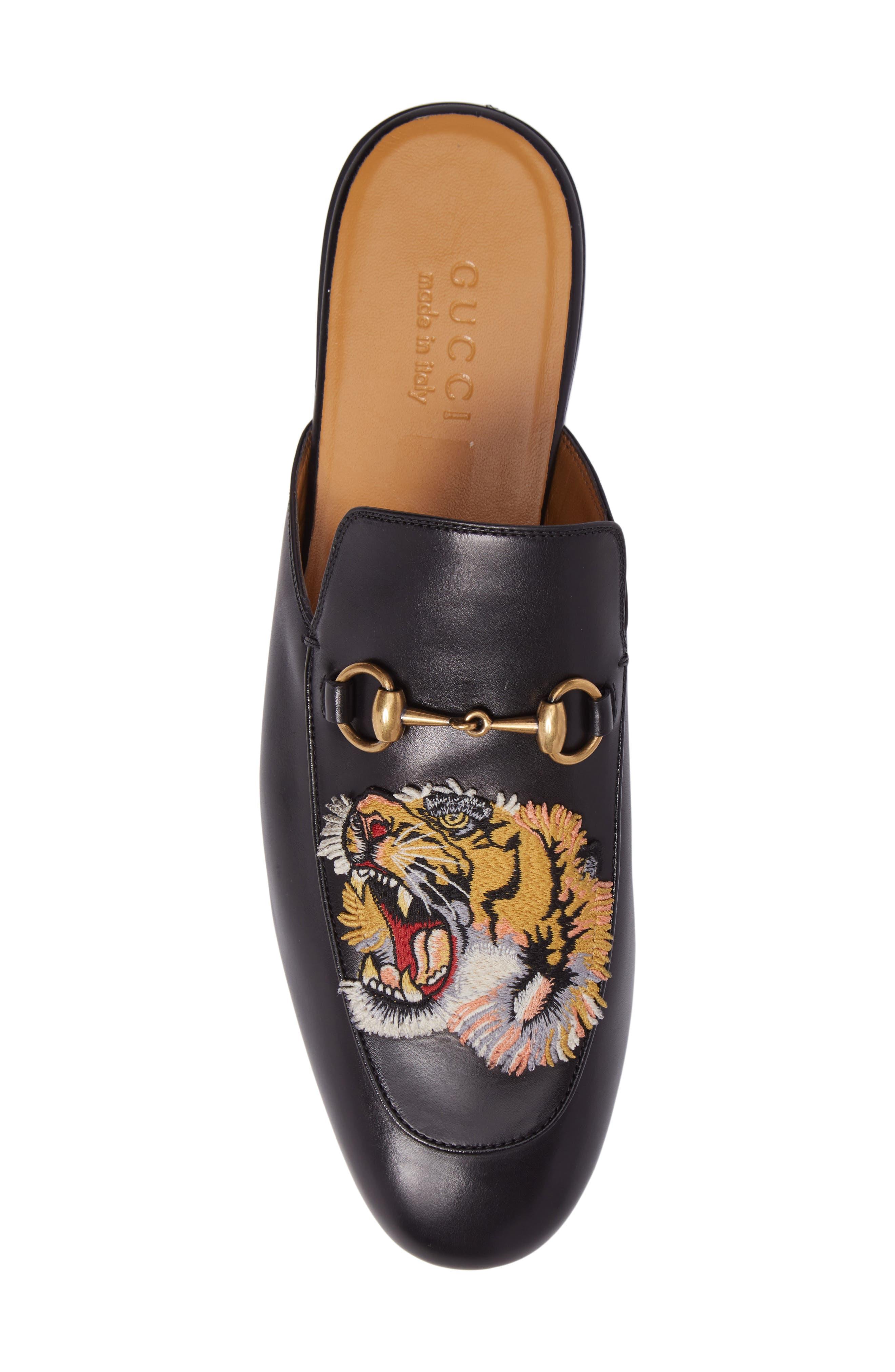 King's Roaring Tiger Bit Loafer,                             Alternate thumbnail 5, color,                             001