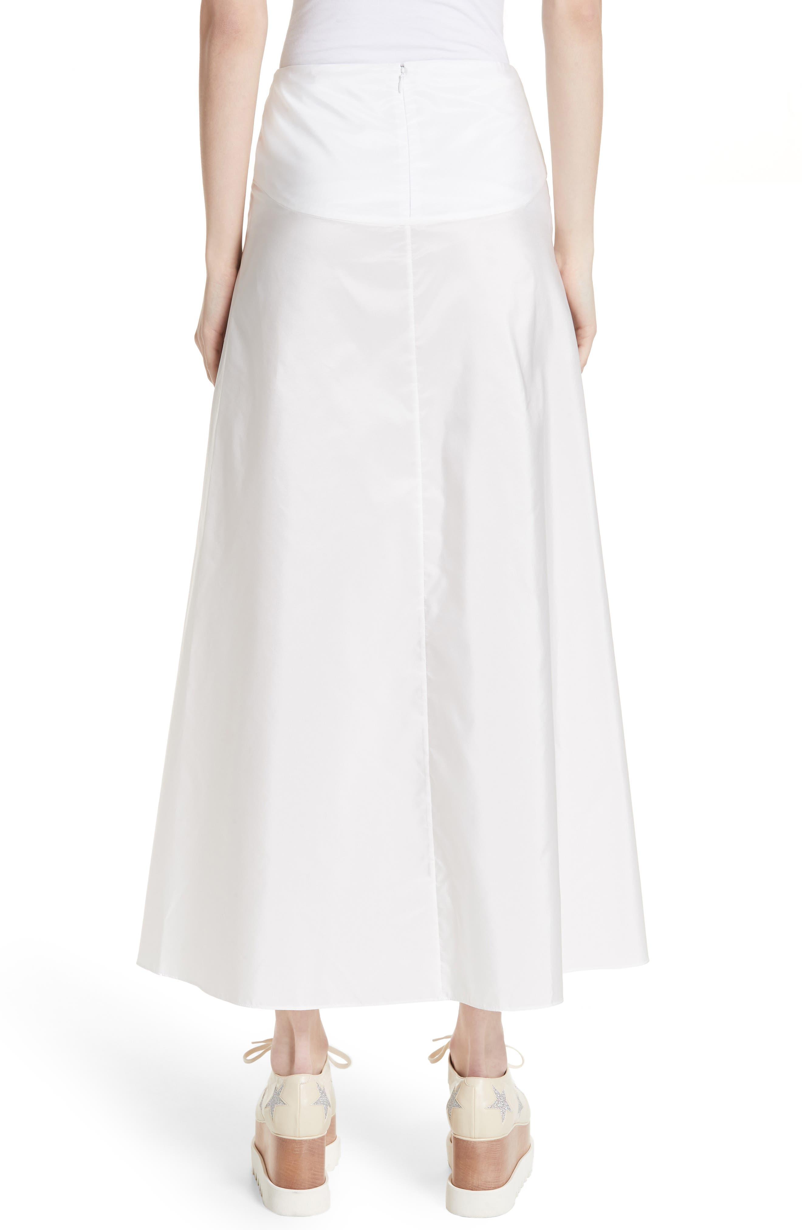 Taffeta Maxi Skirt,                             Alternate thumbnail 2, color,                             100