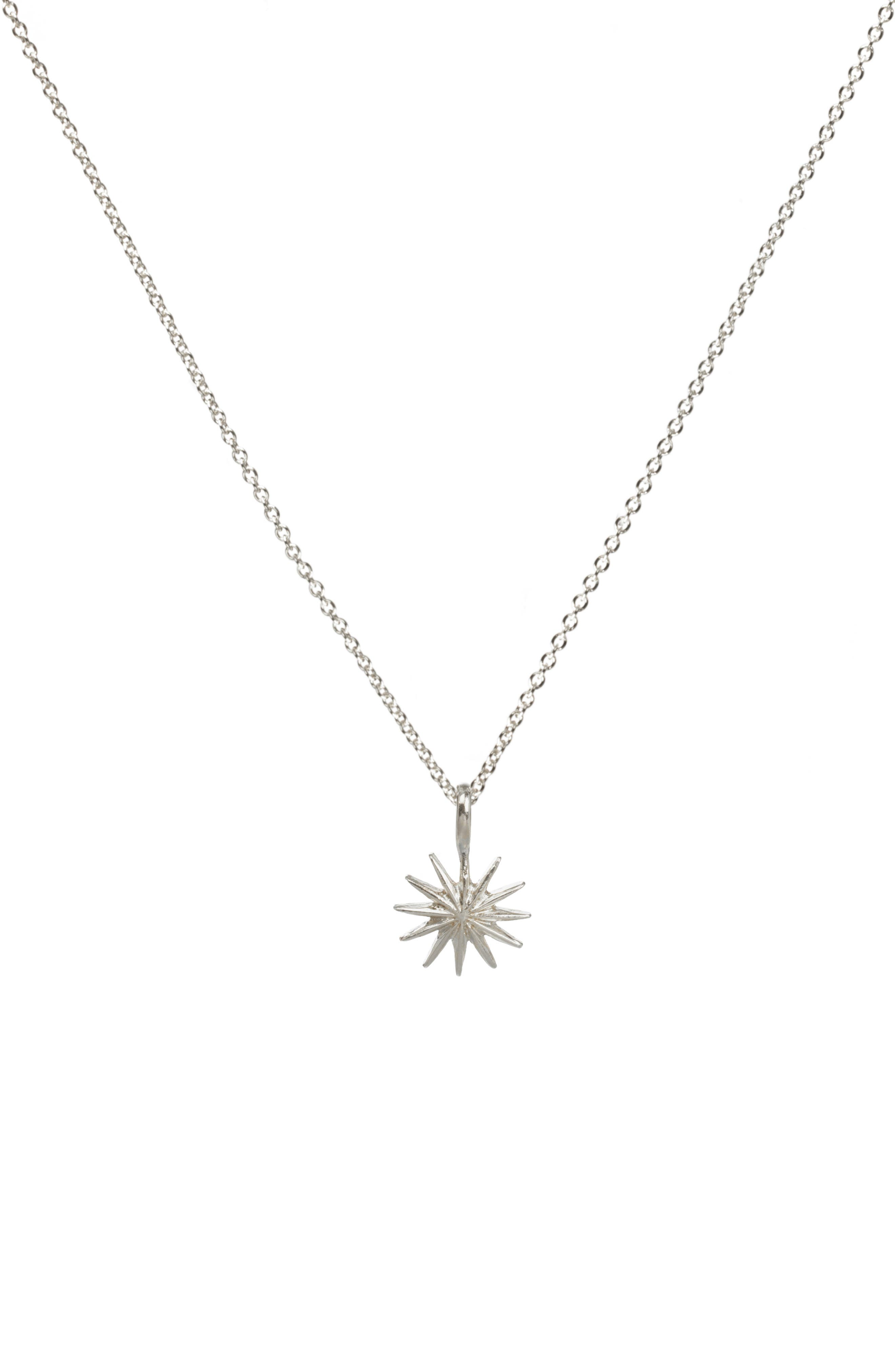 Starburst Pendant Necklace,                             Alternate thumbnail 4, color,                             041
