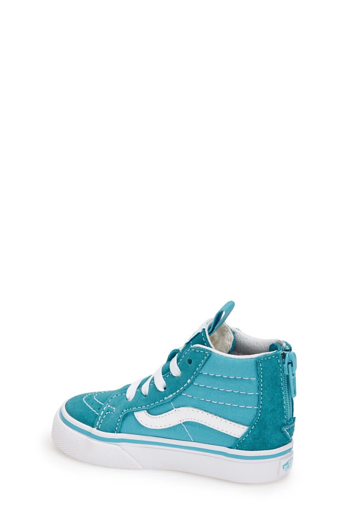 'Sk8-Hi' Zip Sneaker,                             Alternate thumbnail 10, color,