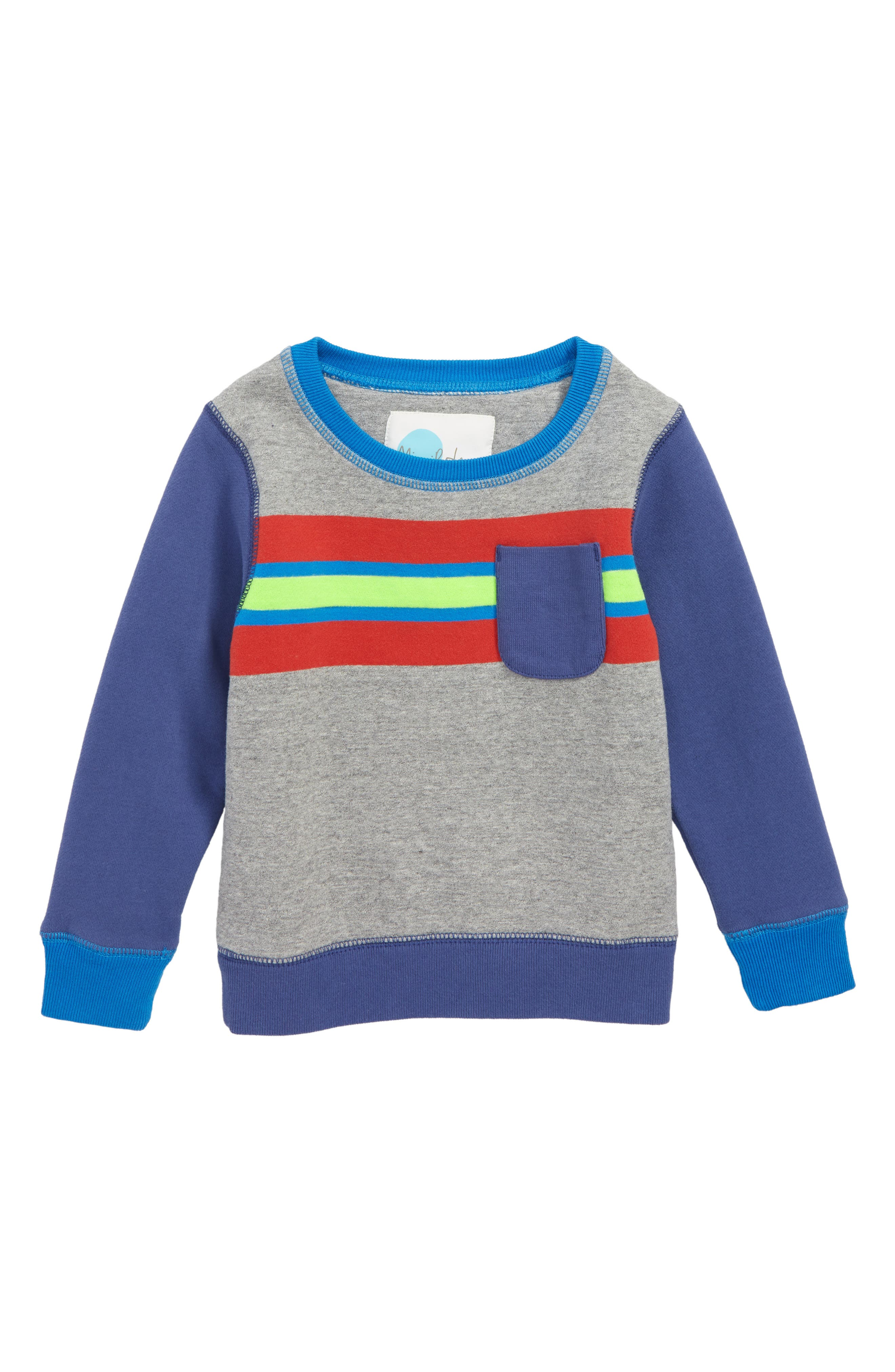Fun Stripe Sweatshirt,                             Main thumbnail 1, color,                             034