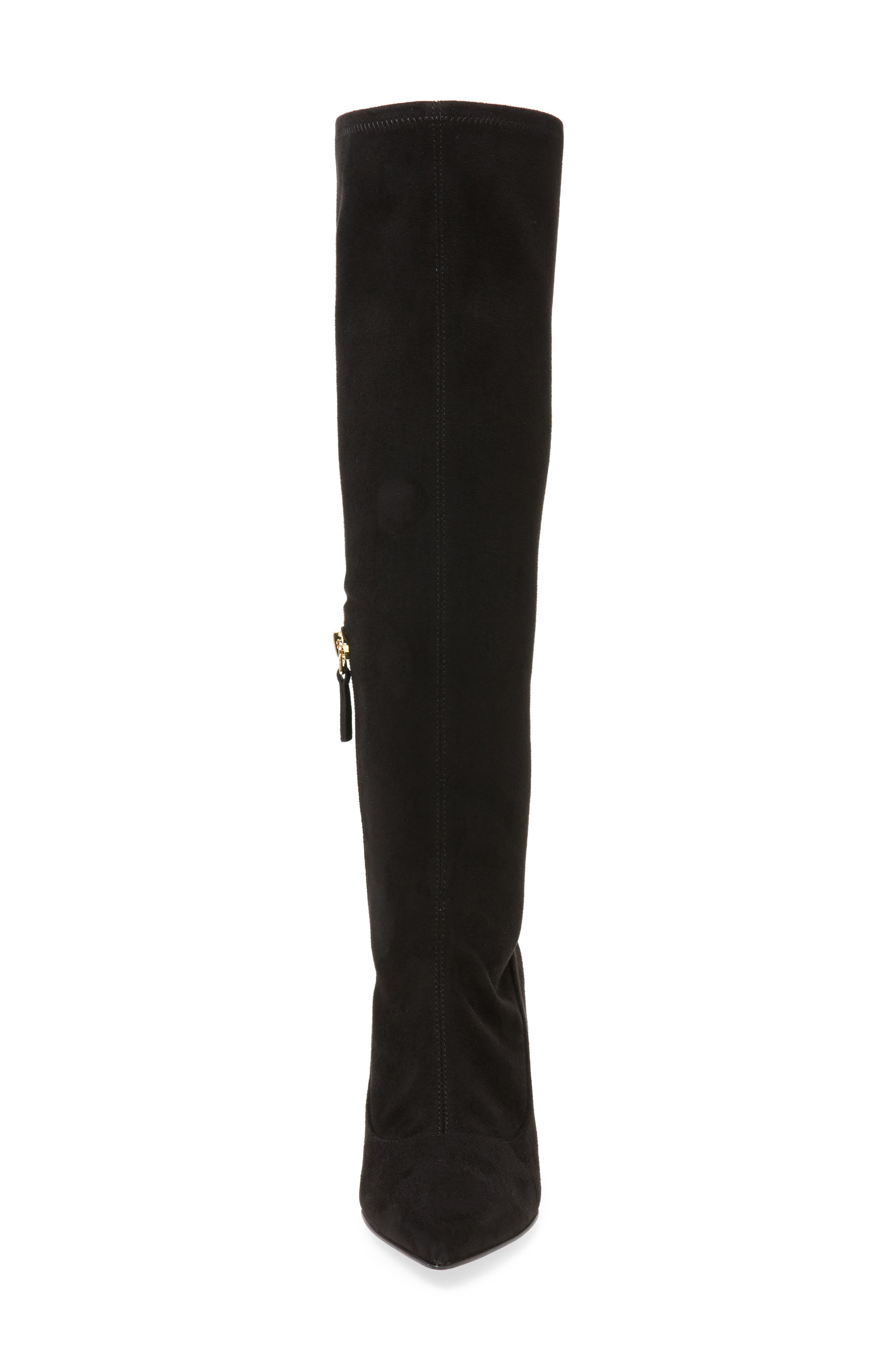 Carrara Knee High Pointy Toe Boot,                             Alternate thumbnail 7, color,