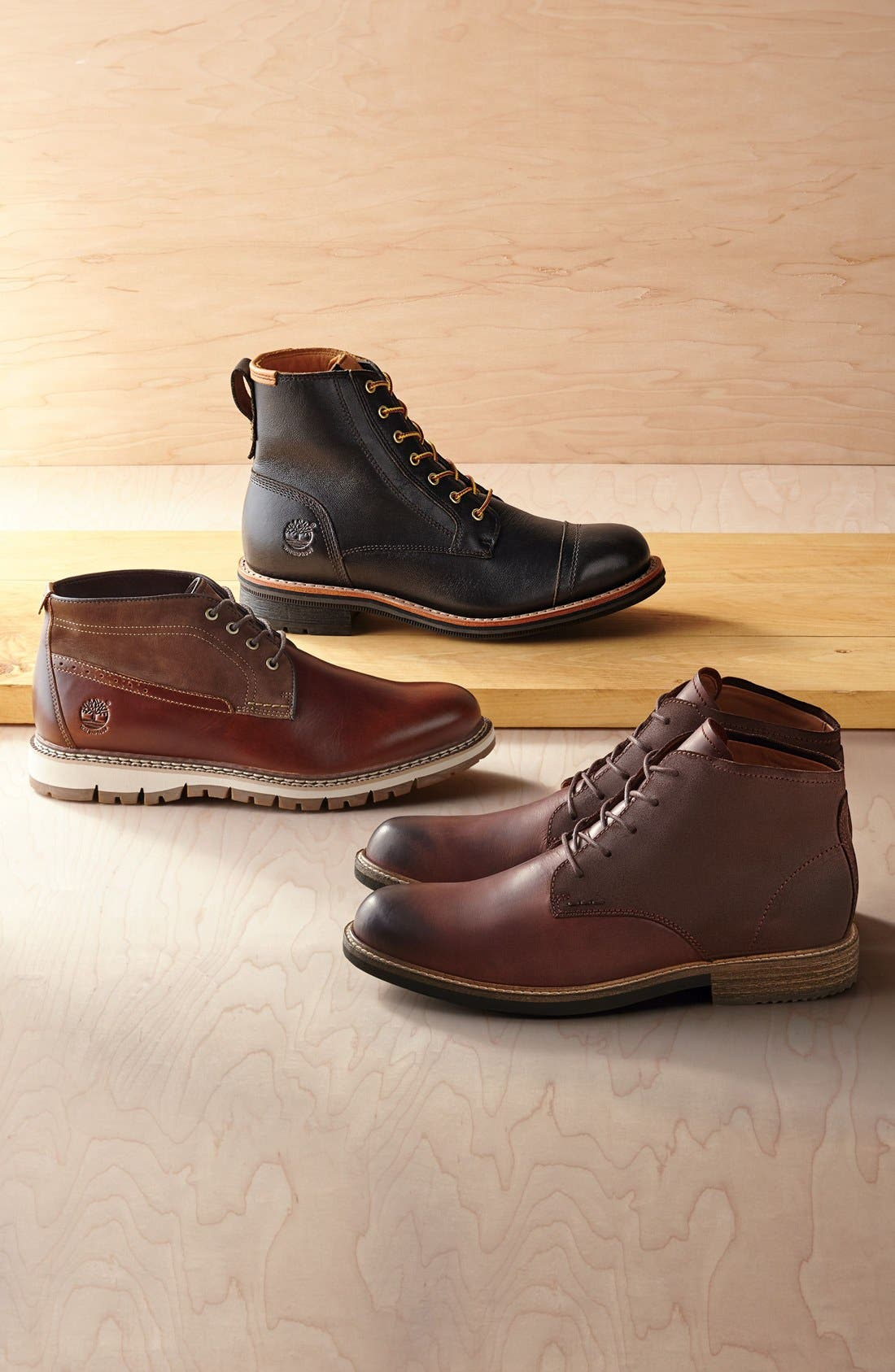 TIMBERLAND,                             'Willoughby' Cap Toe Boot,                             Alternate thumbnail 5, color,                             200