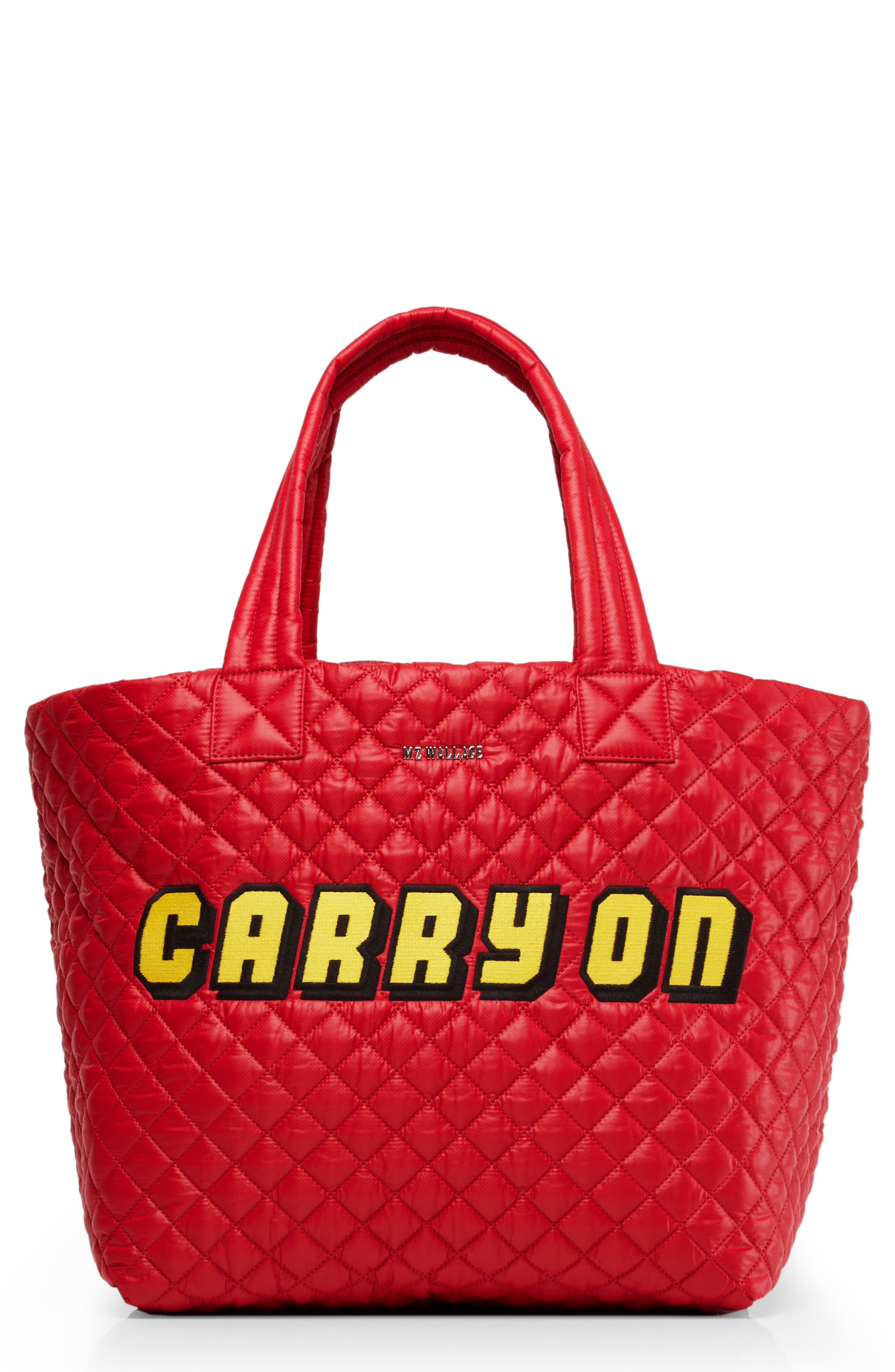 Mz Wallace  LARGE METRO TOTE - RED