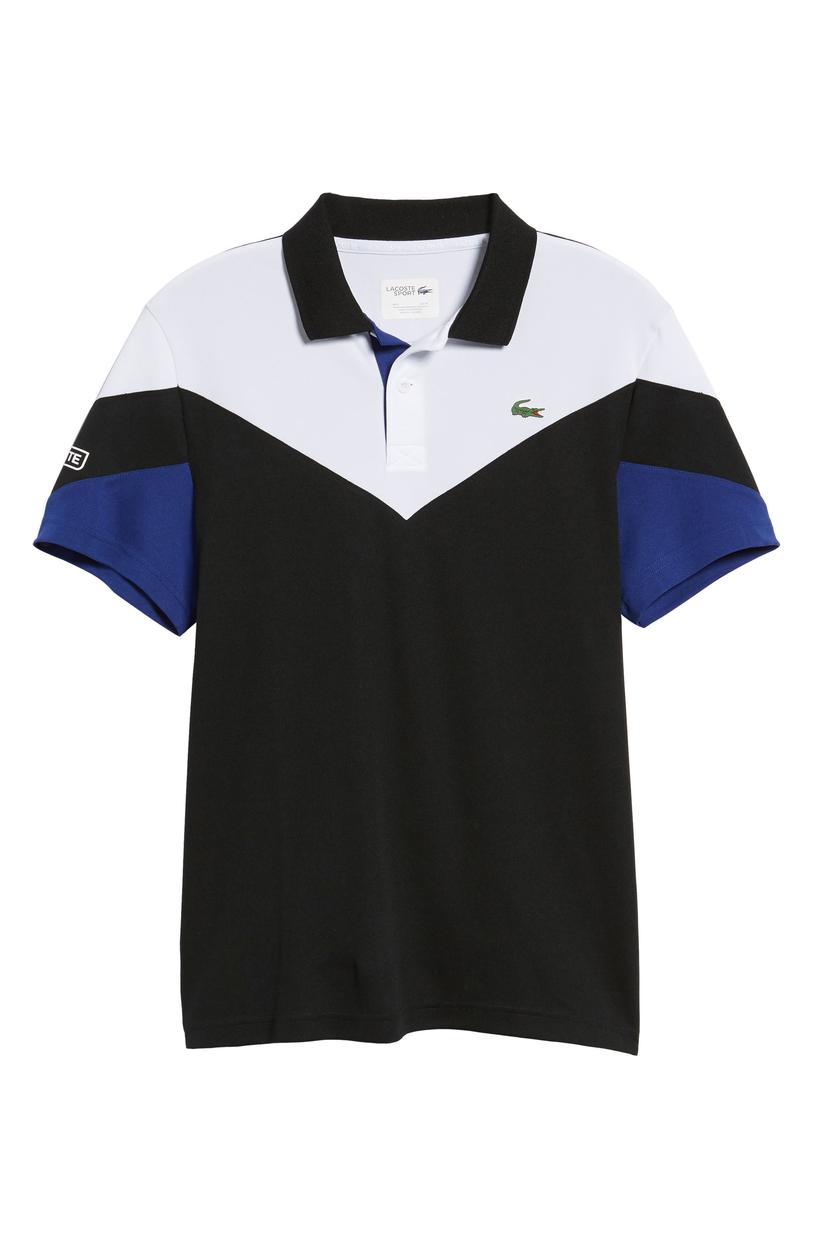Ultra Dry Chevron Polo,                             Alternate thumbnail 6, color,                             006