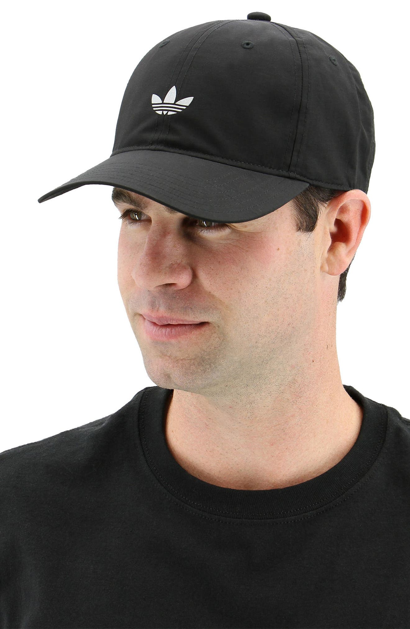Relaxed Logo Baseball Cap,                             Alternate thumbnail 7, color,                             001