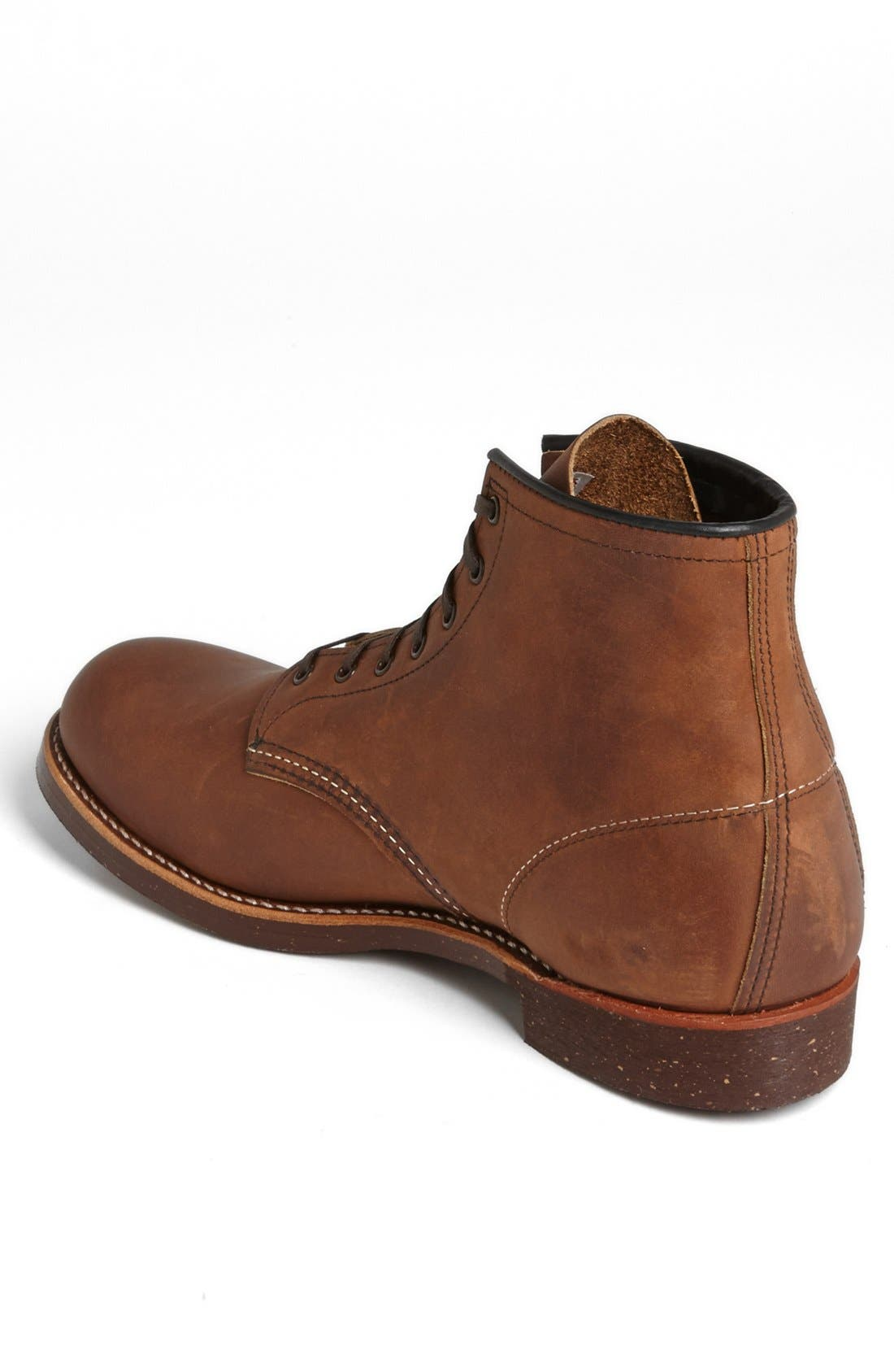 RED WING,                             6 Inch Round Toe Boot,                             Alternate thumbnail 4, color,                             208