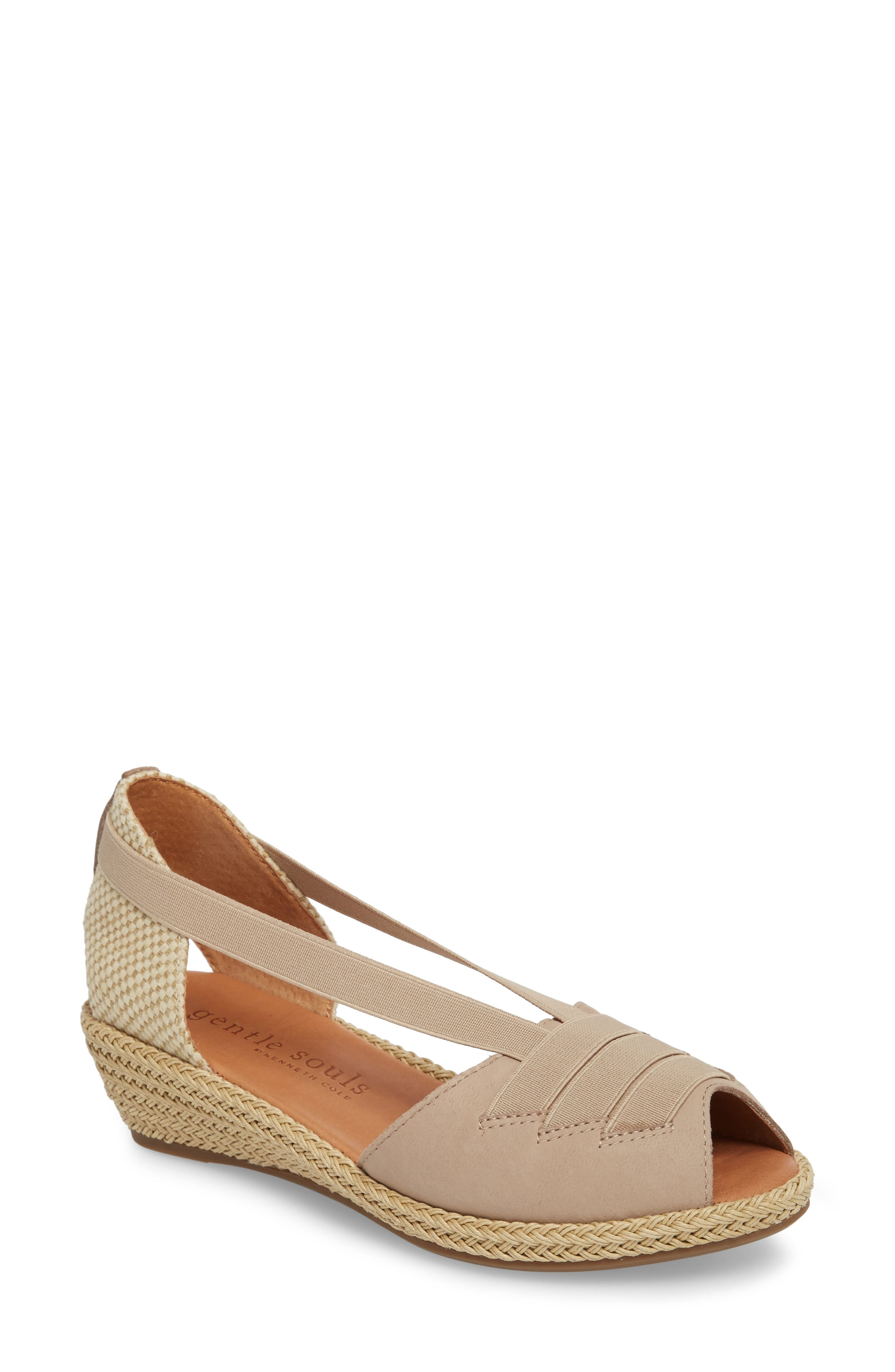 by Kenneth Cole Luci Wedge Sandal,                         Main,                         color, 020