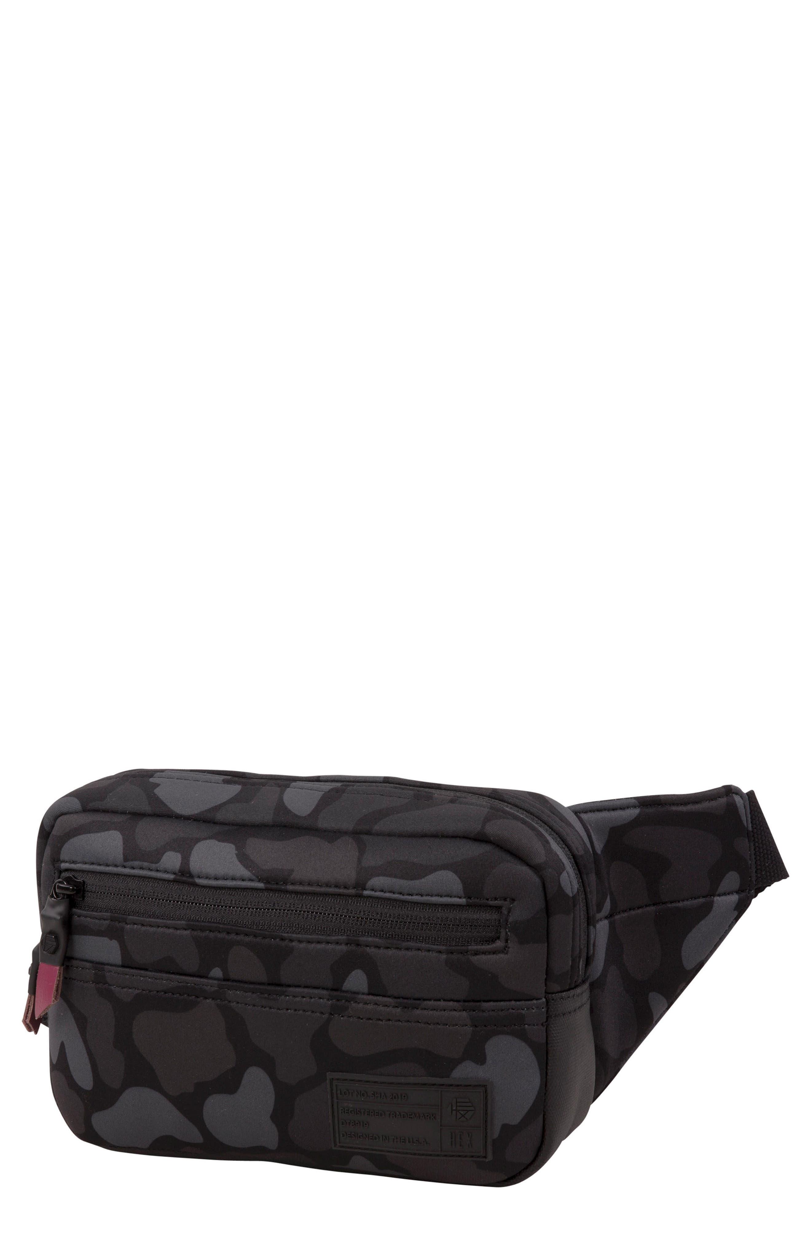 Belt Bag,                         Main,                         color, CAMO NEOPRENE
