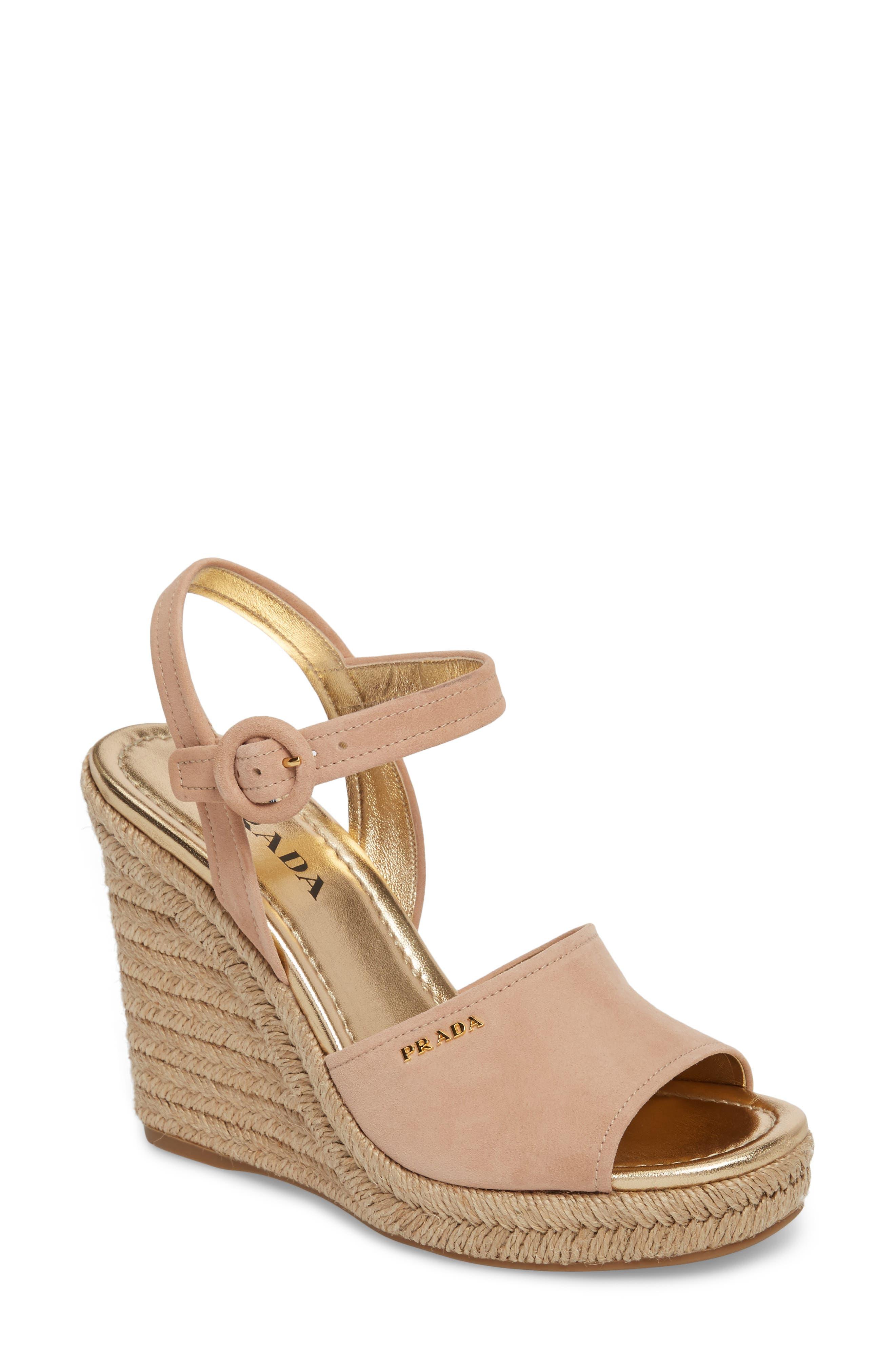 Espadrille Wedge Sandal,                         Main,                         color, 250