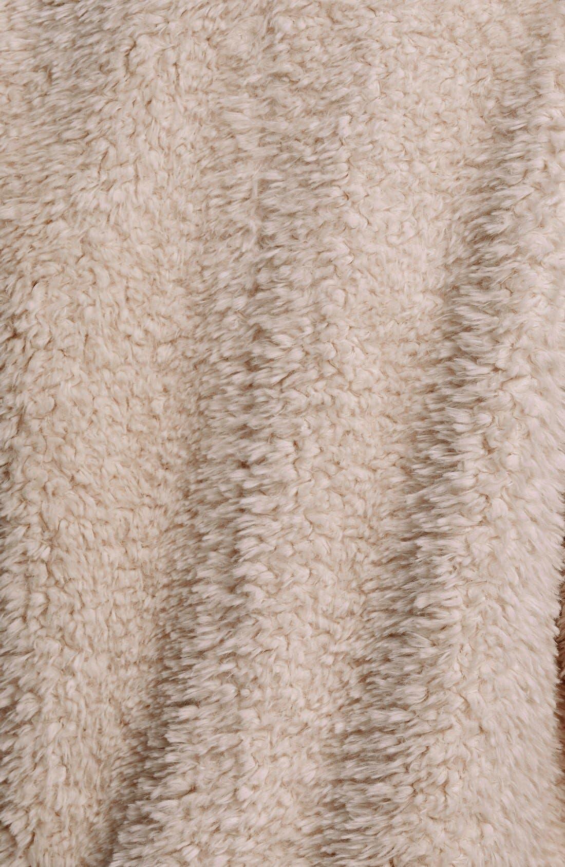 'Teddy Bear' Faux Fur Clutch Coat,                             Alternate thumbnail 7, color,