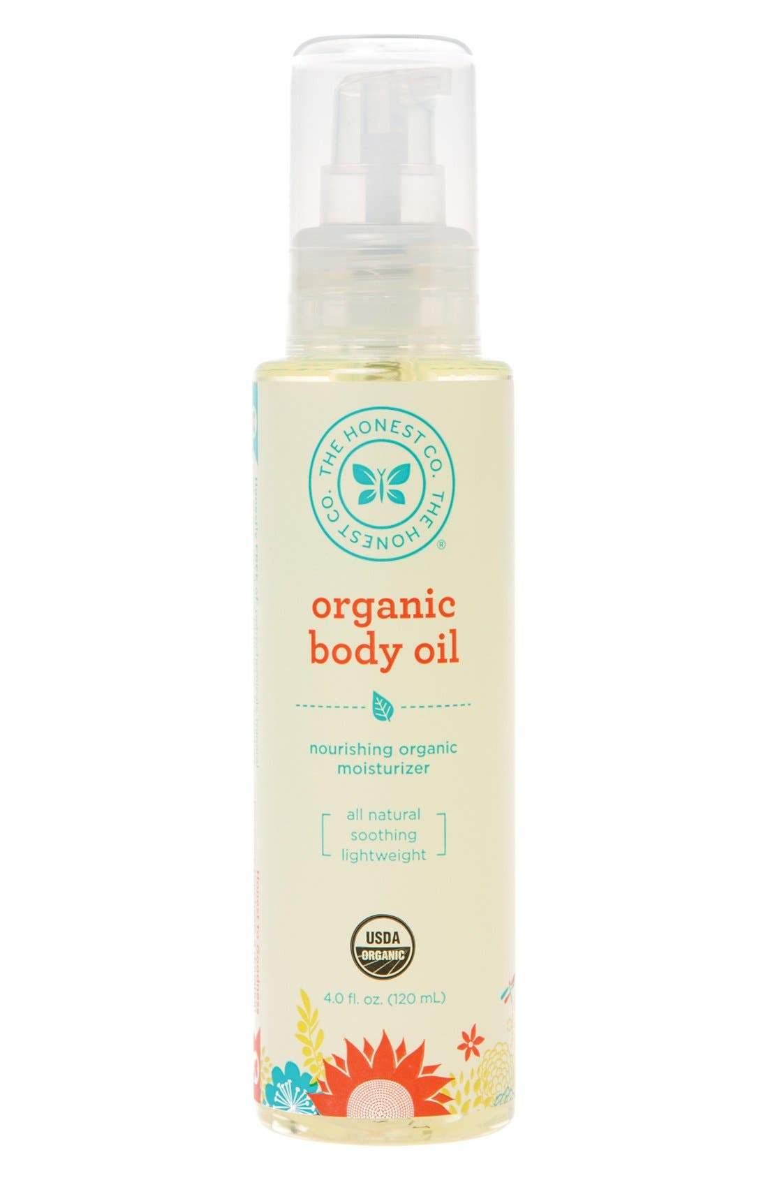 Organic Body Oil,                             Main thumbnail 1, color,                             000